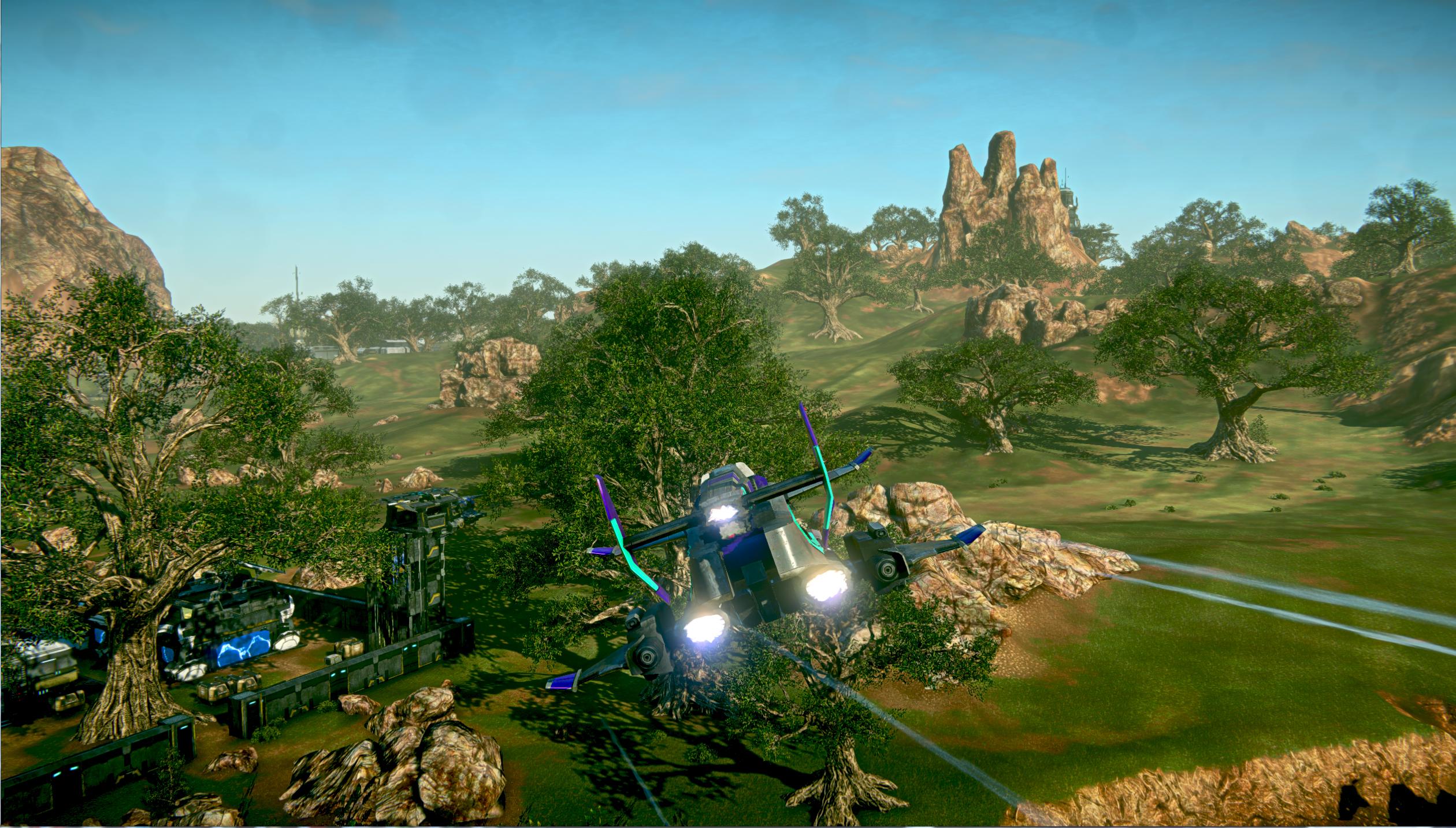PlanetSide 2 rozpoutá bitvy na PS4 koncem měsíce 109584