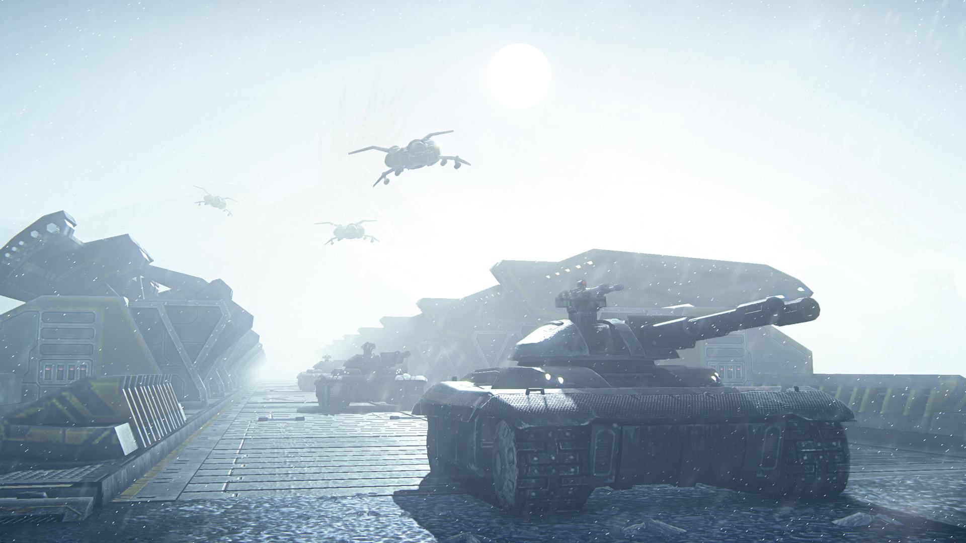 PlanetSide 2 rozpoutá bitvy na PS4 koncem měsíce 109589