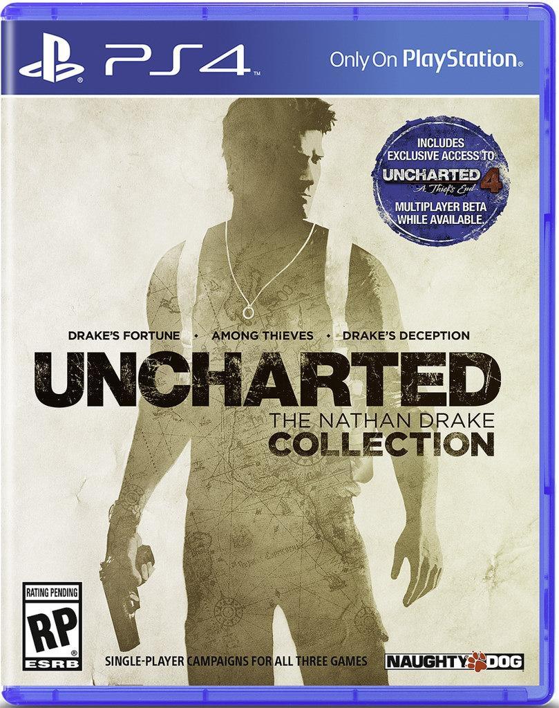 Trilogie Uncharted pro PS4 vám zajistí přístup do bety Uncharted 4 109638