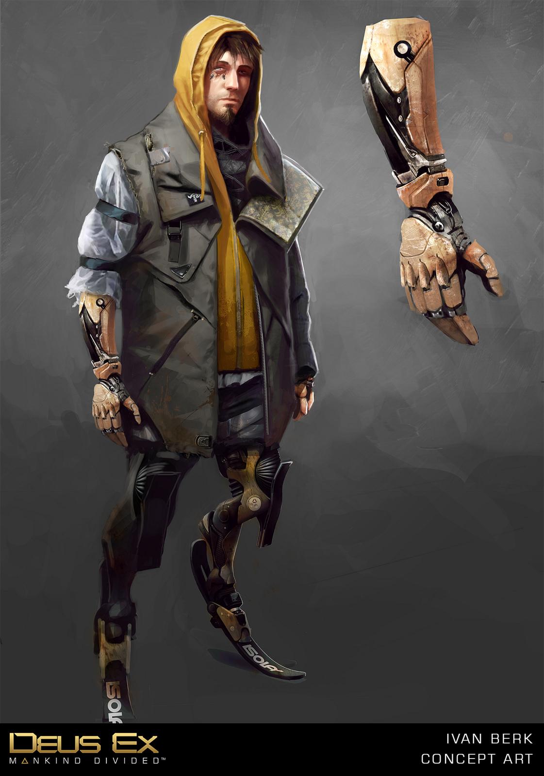 Mocap test z Deus Ex: Mankind Divided překvapí 109715