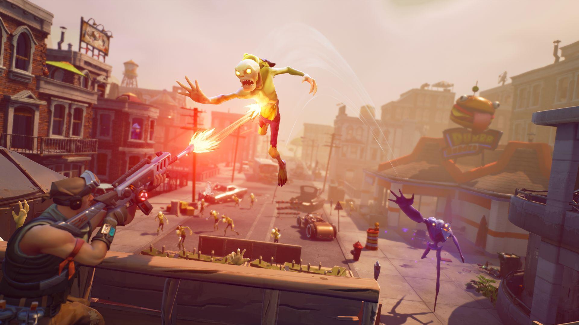 Nový gameplay trailer z Fortnite 109761
