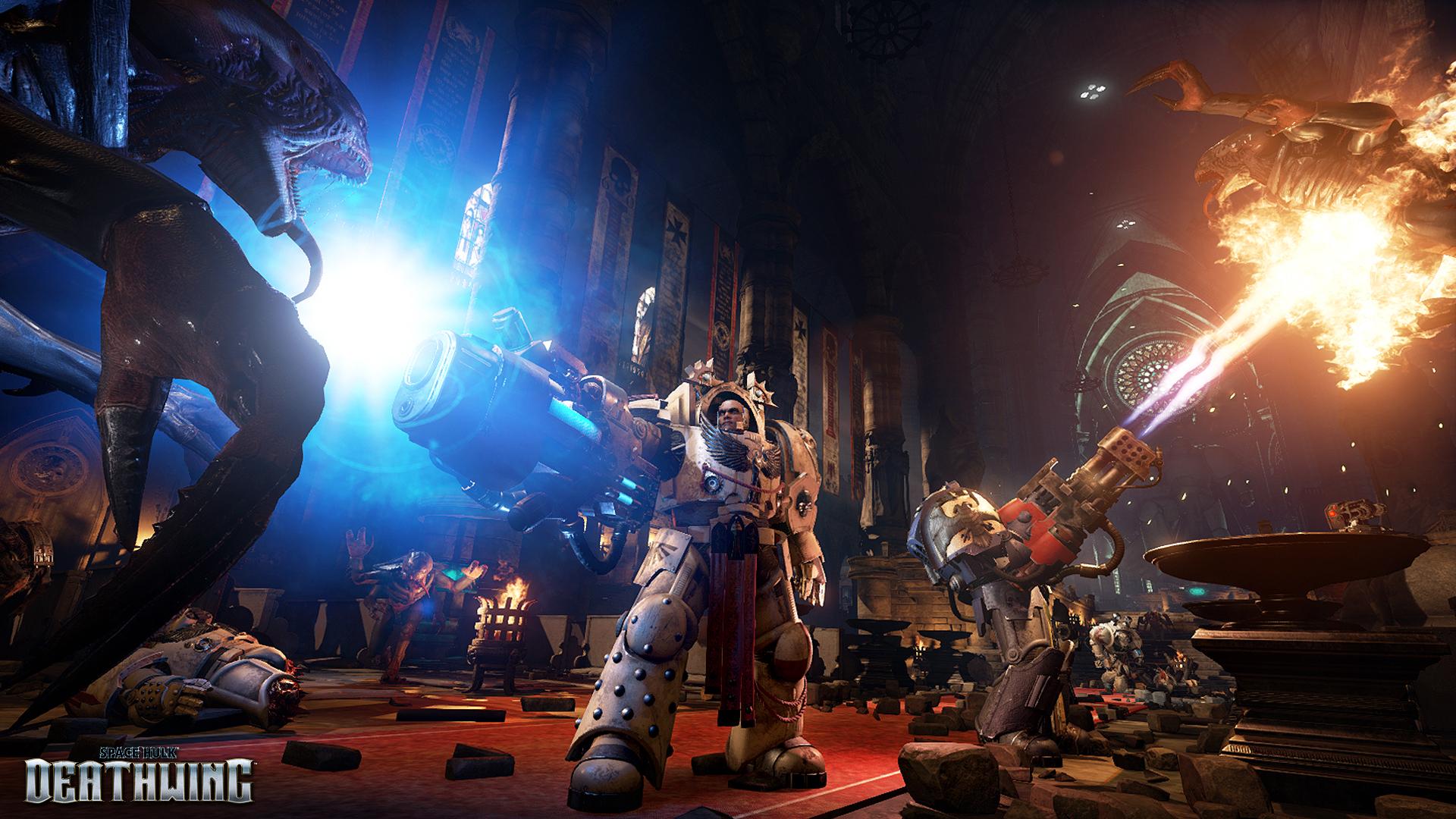Obrázky ze Space Hulk: Deathwing a Battlefleet Gothic: Armada 109770