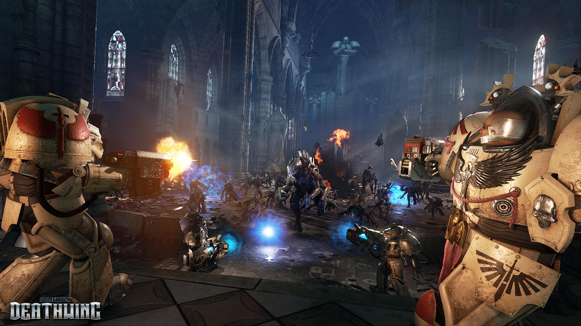 Obrázky ze Space Hulk: Deathwing a Battlefleet Gothic: Armada 109772