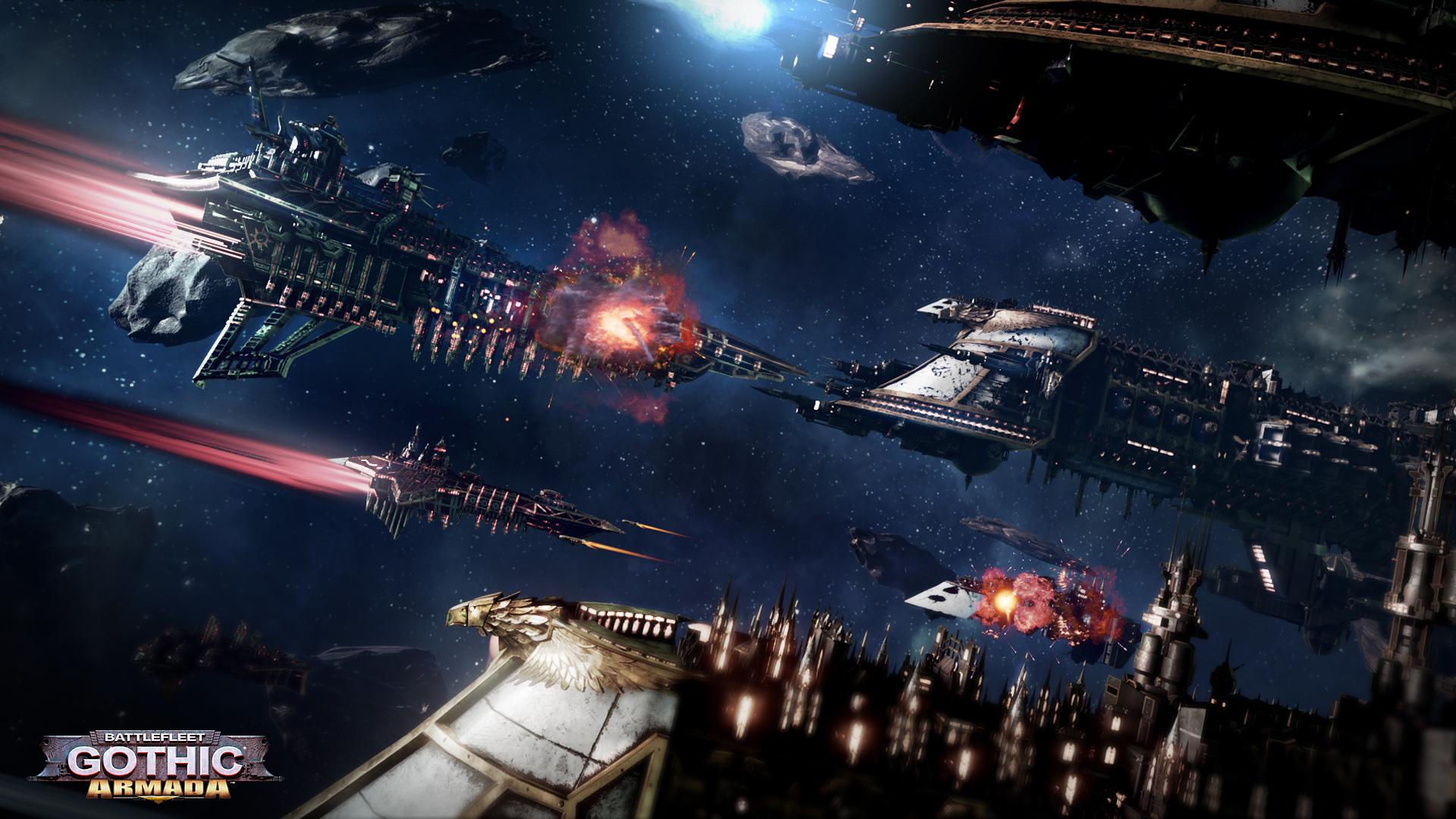 Obrázky ze Space Hulk: Deathwing a Battlefleet Gothic: Armada 109775