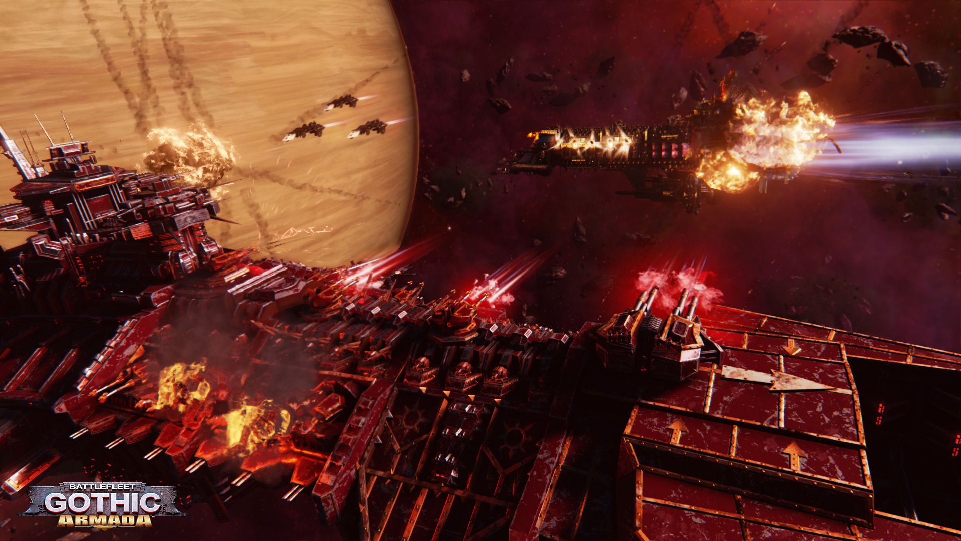 Obrázky ze Space Hulk: Deathwing a Battlefleet Gothic: Armada 109776