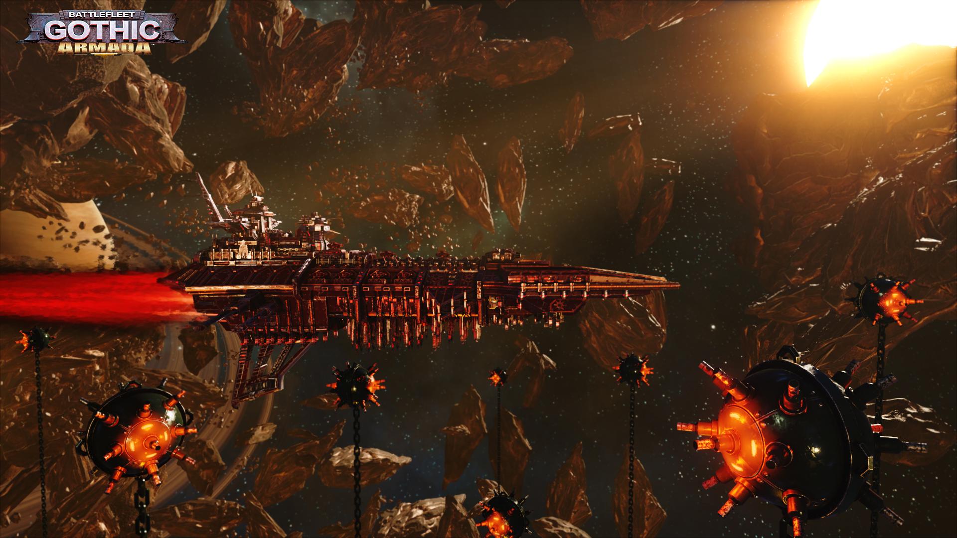 Obrázky ze Space Hulk: Deathwing a Battlefleet Gothic: Armada 109777