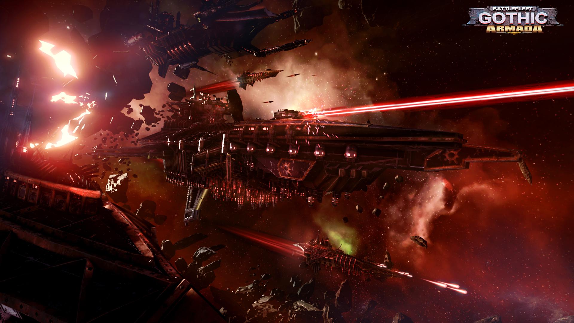 Obrázky ze Space Hulk: Deathwing a Battlefleet Gothic: Armada 109778