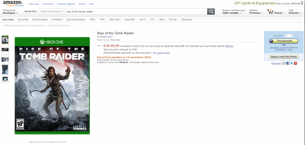 Forza 6 v září a Rise of the Tomb Raider v listopadu? 109801