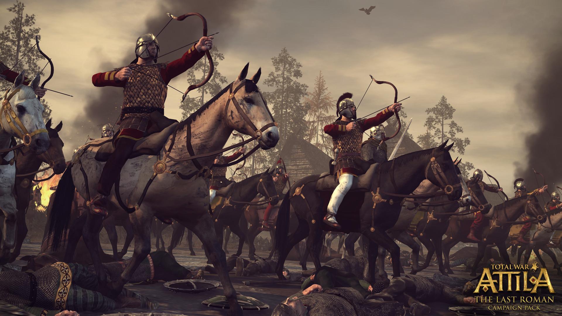 Poslední velký římský generál v expanzi Total War: Attila 109840
