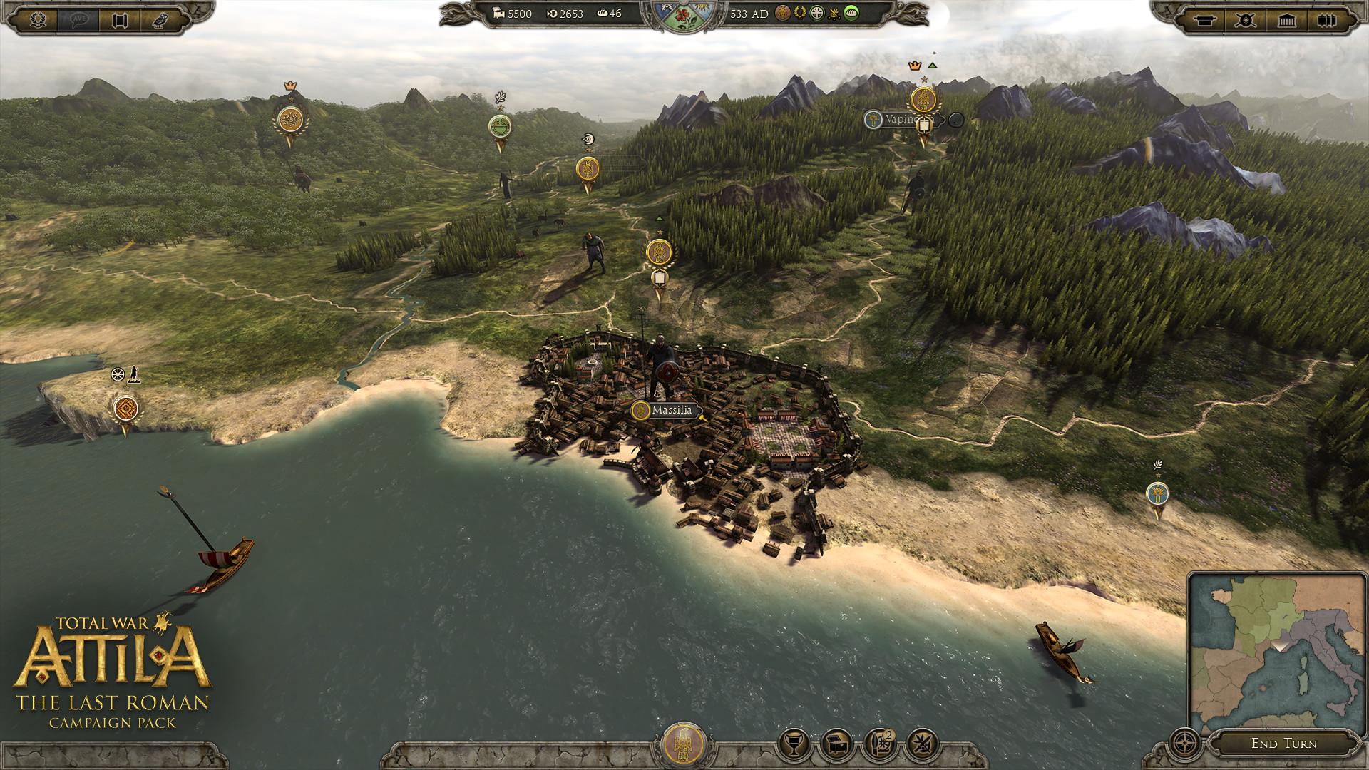 Poslední velký římský generál v expanzi Total War: Attila 109843