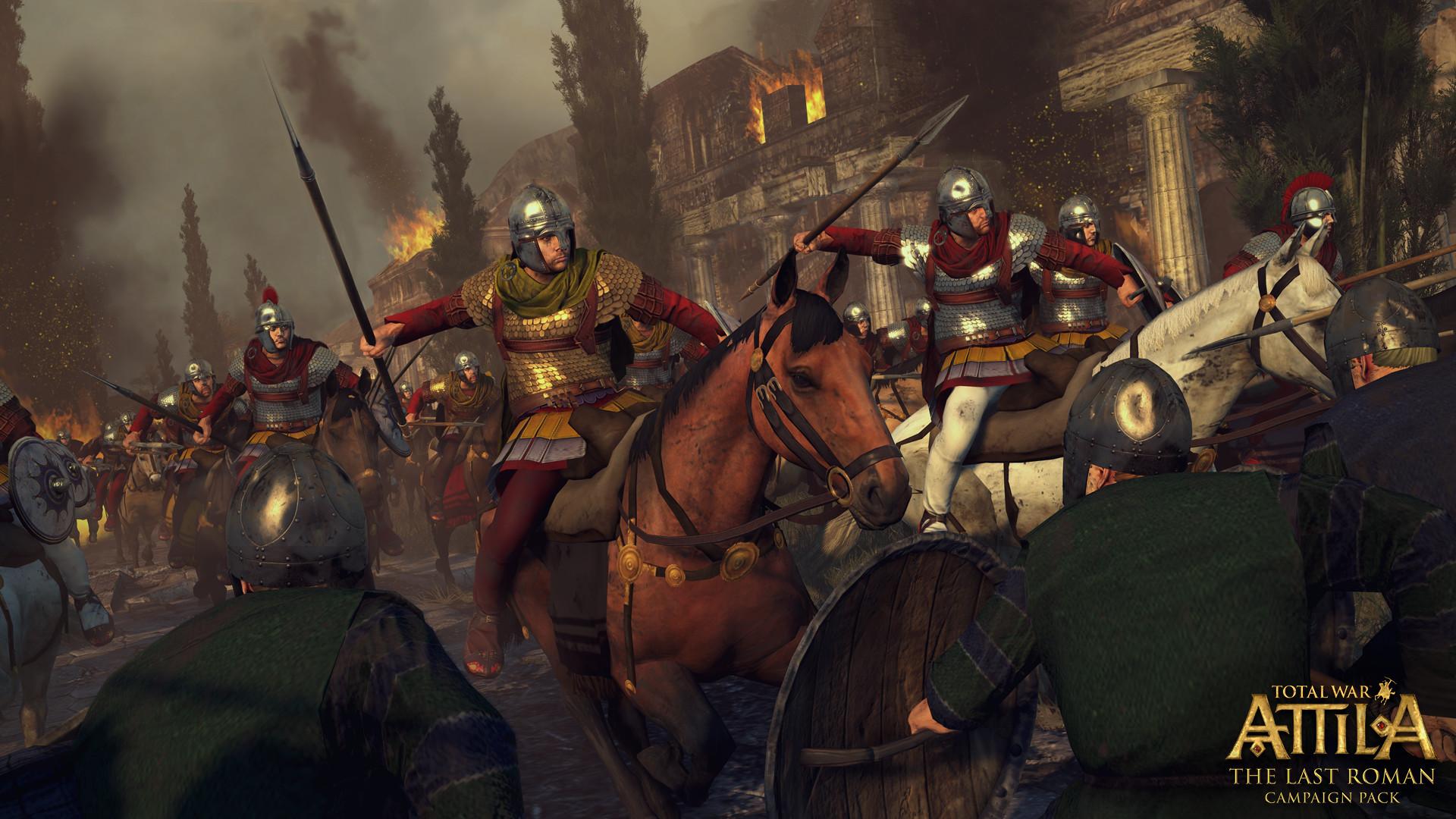 Poslední velký římský generál v expanzi Total War: Attila 109844