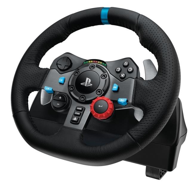 Logitech představil dva nové závodní volanty 109946