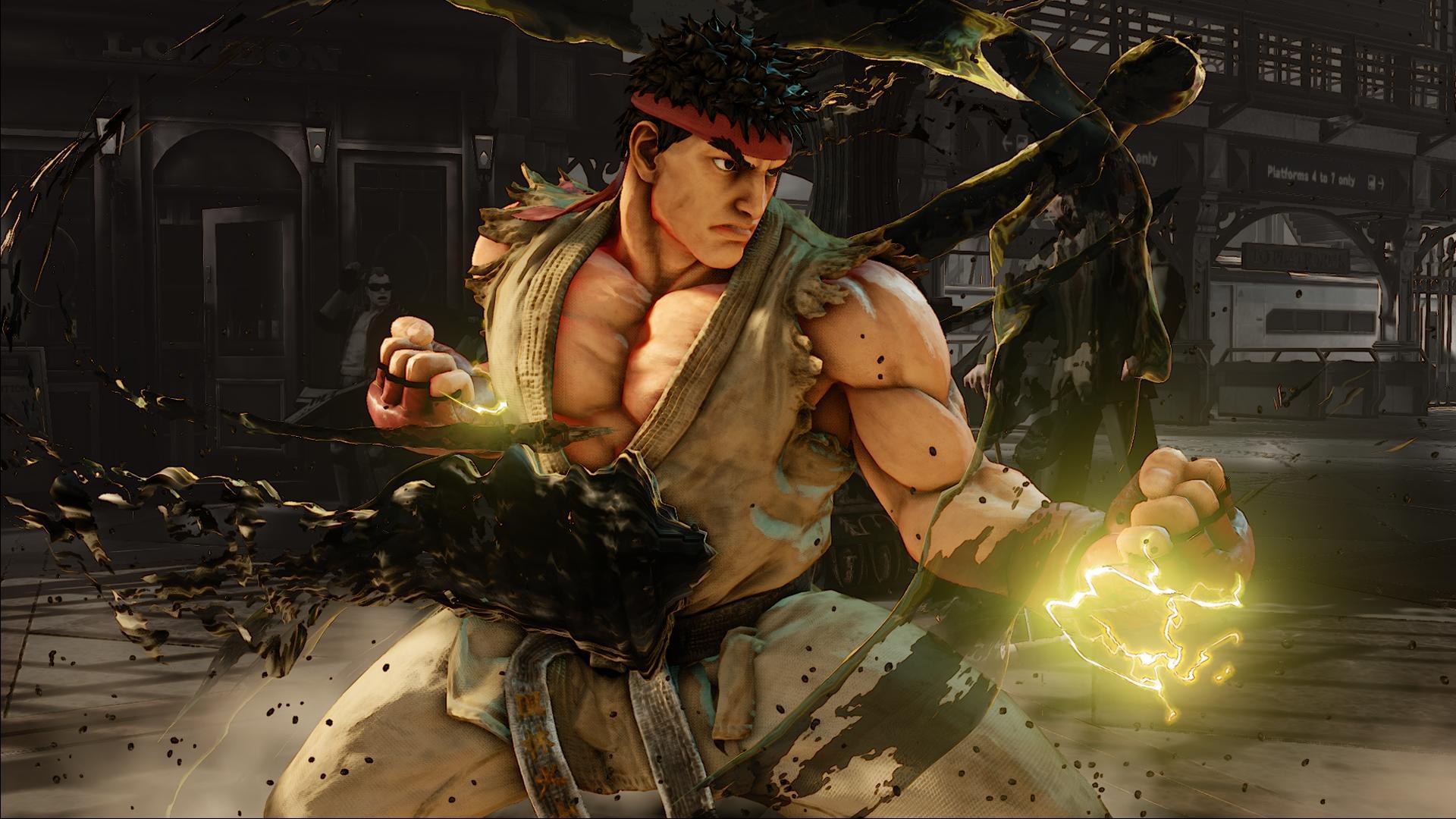Screenshoty z bojovky Street Fighter V 109955