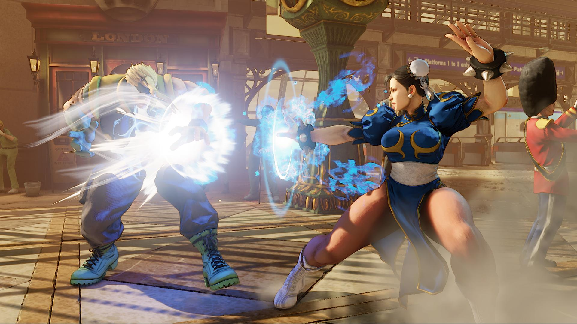 Screenshoty z bojovky Street Fighter V 109960