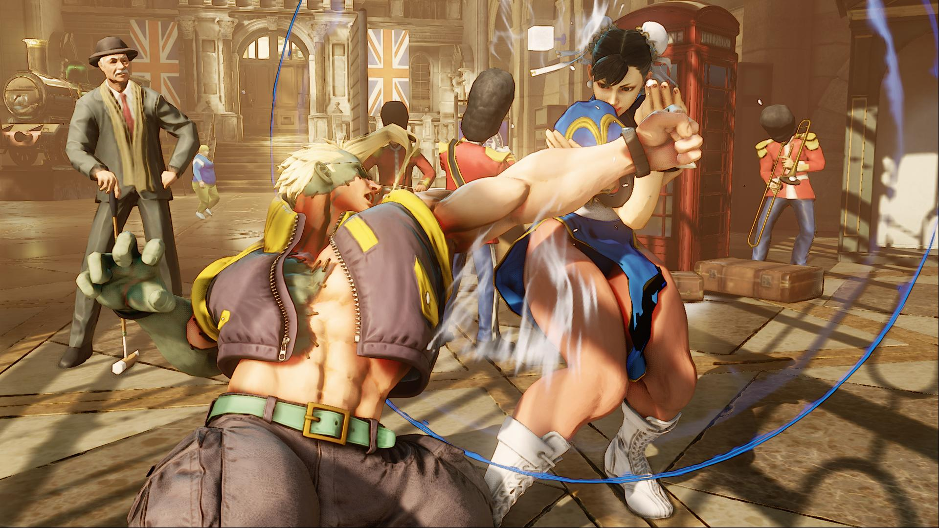 Screenshoty z bojovky Street Fighter V 109962