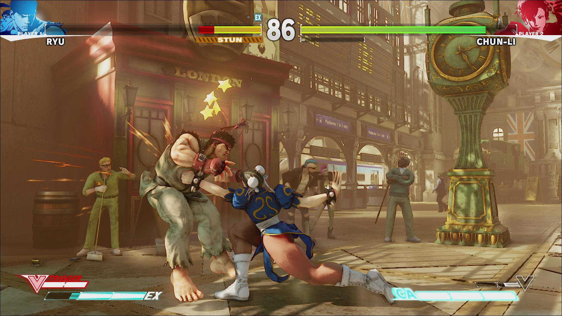 Screenshoty z bojovky Street Fighter V 109967