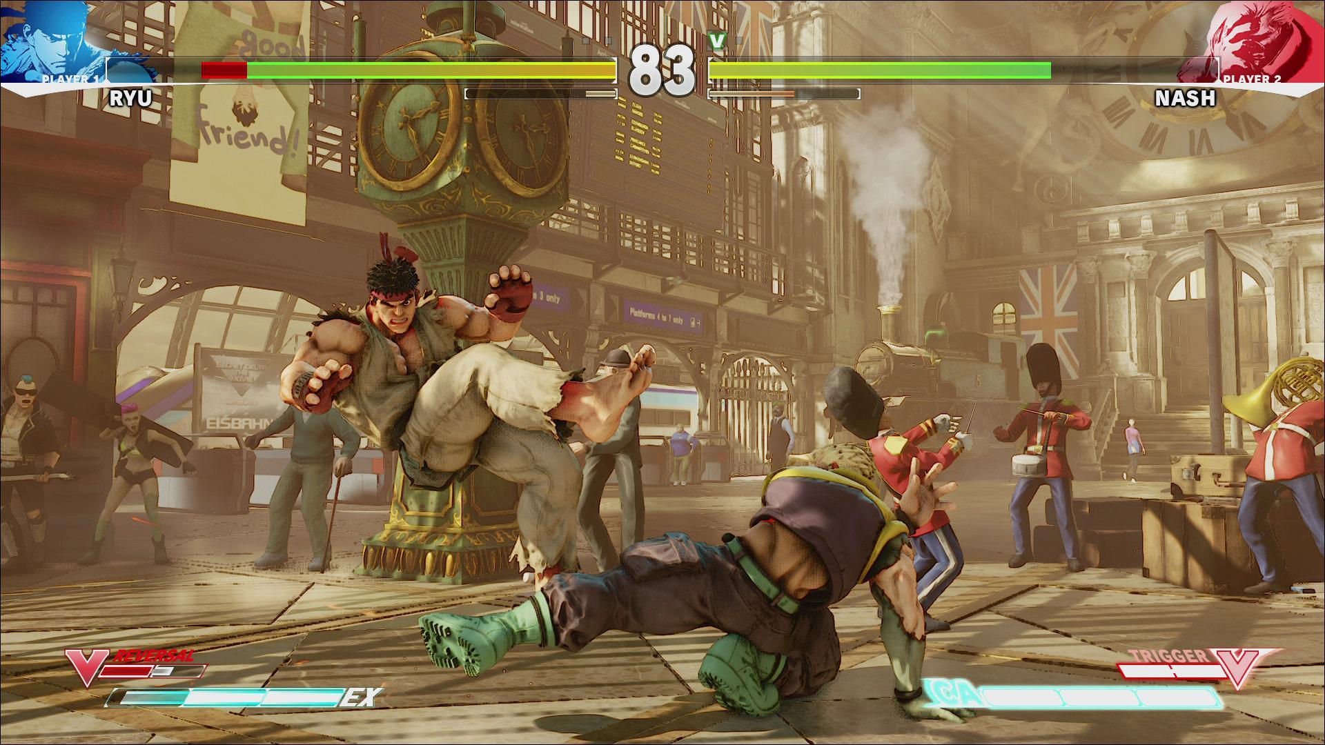 Screenshoty z bojovky Street Fighter V 109969