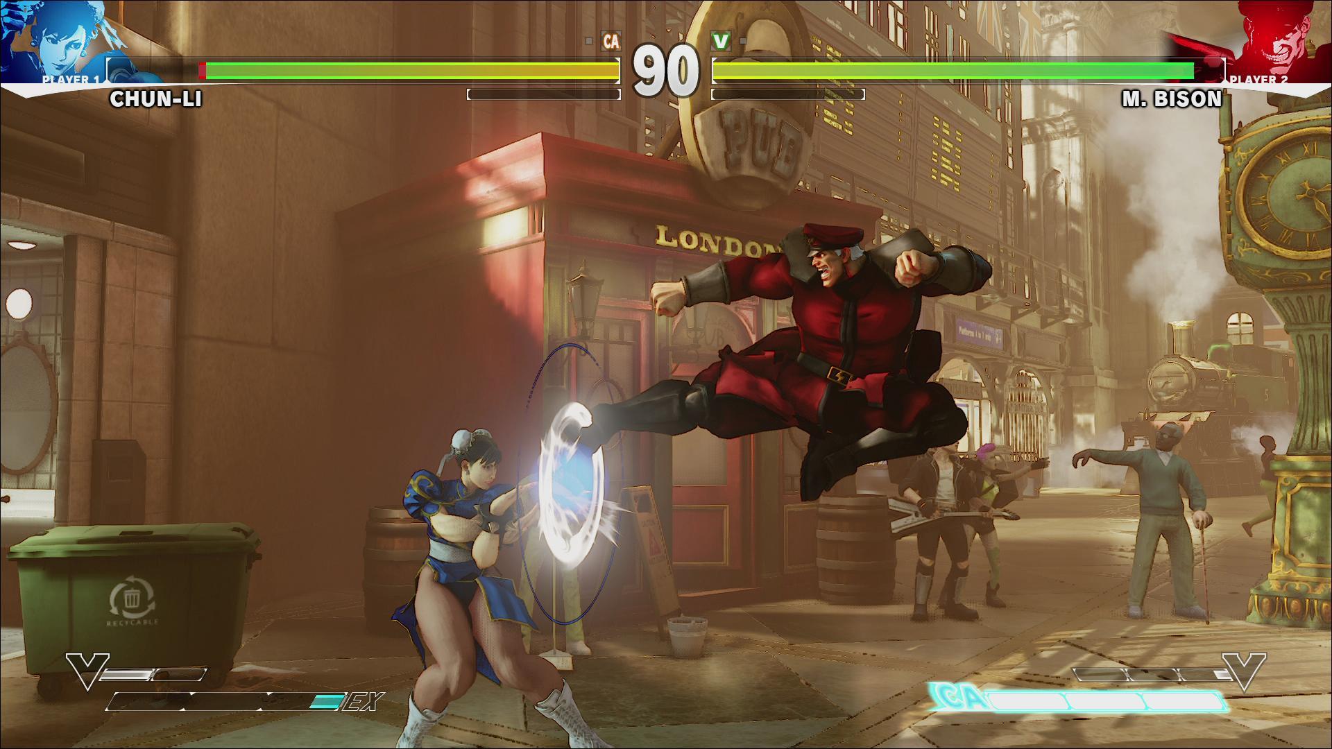 Screenshoty z bojovky Street Fighter V 109970