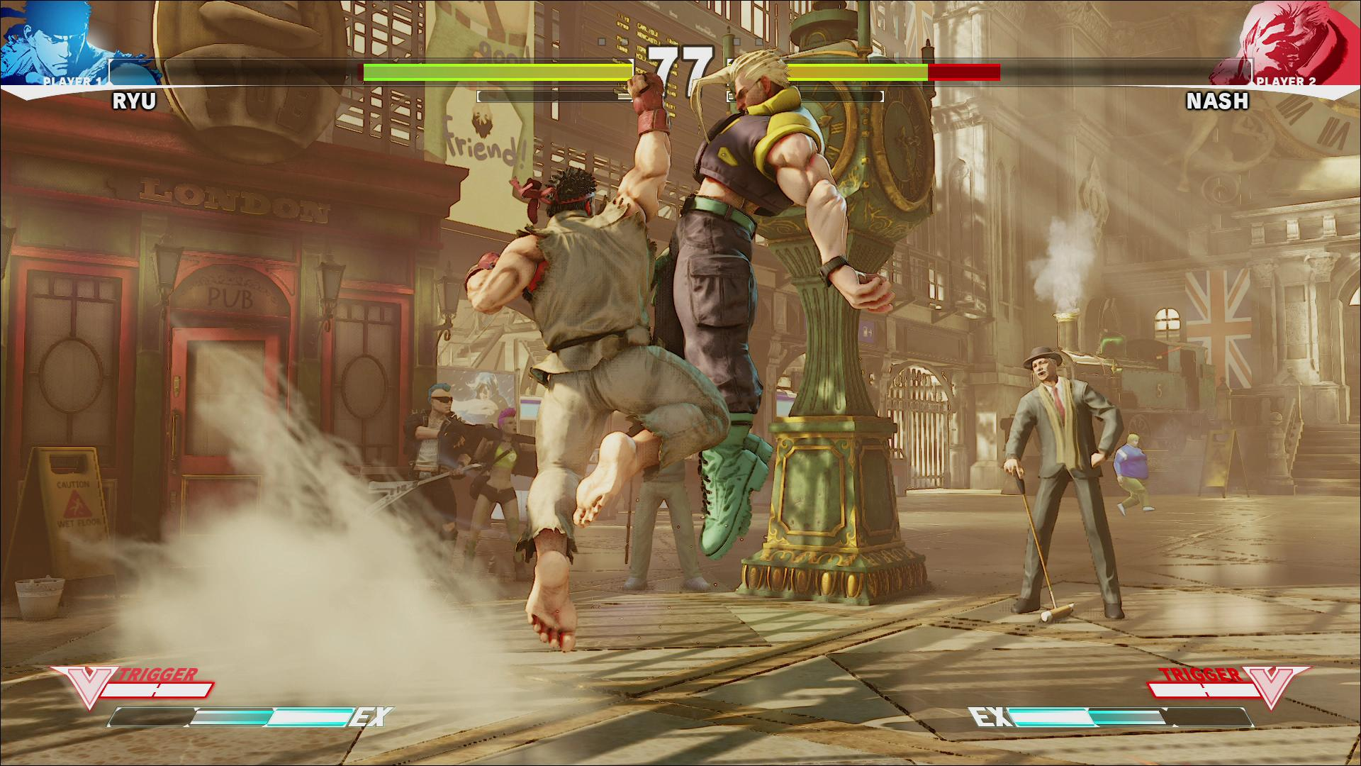 Screenshoty z bojovky Street Fighter V 109972
