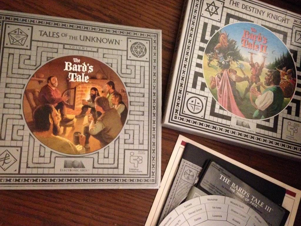 Kompilace The Bard's Tale Trilogy zdarma pro všechny přispěvatele na Kickstarteru 110013