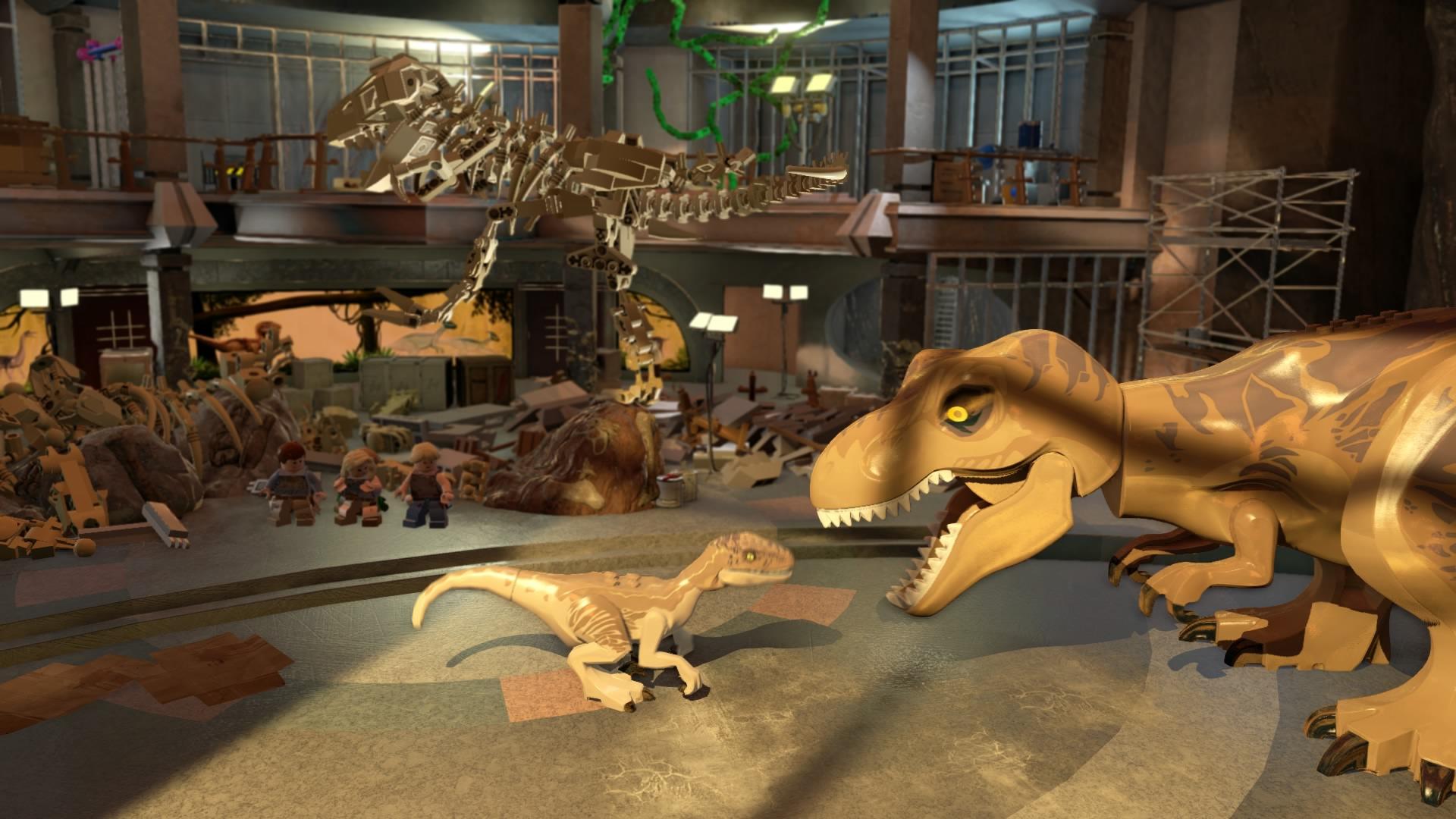 Dinosauři v kostičkové podobě jsou tu 110026
