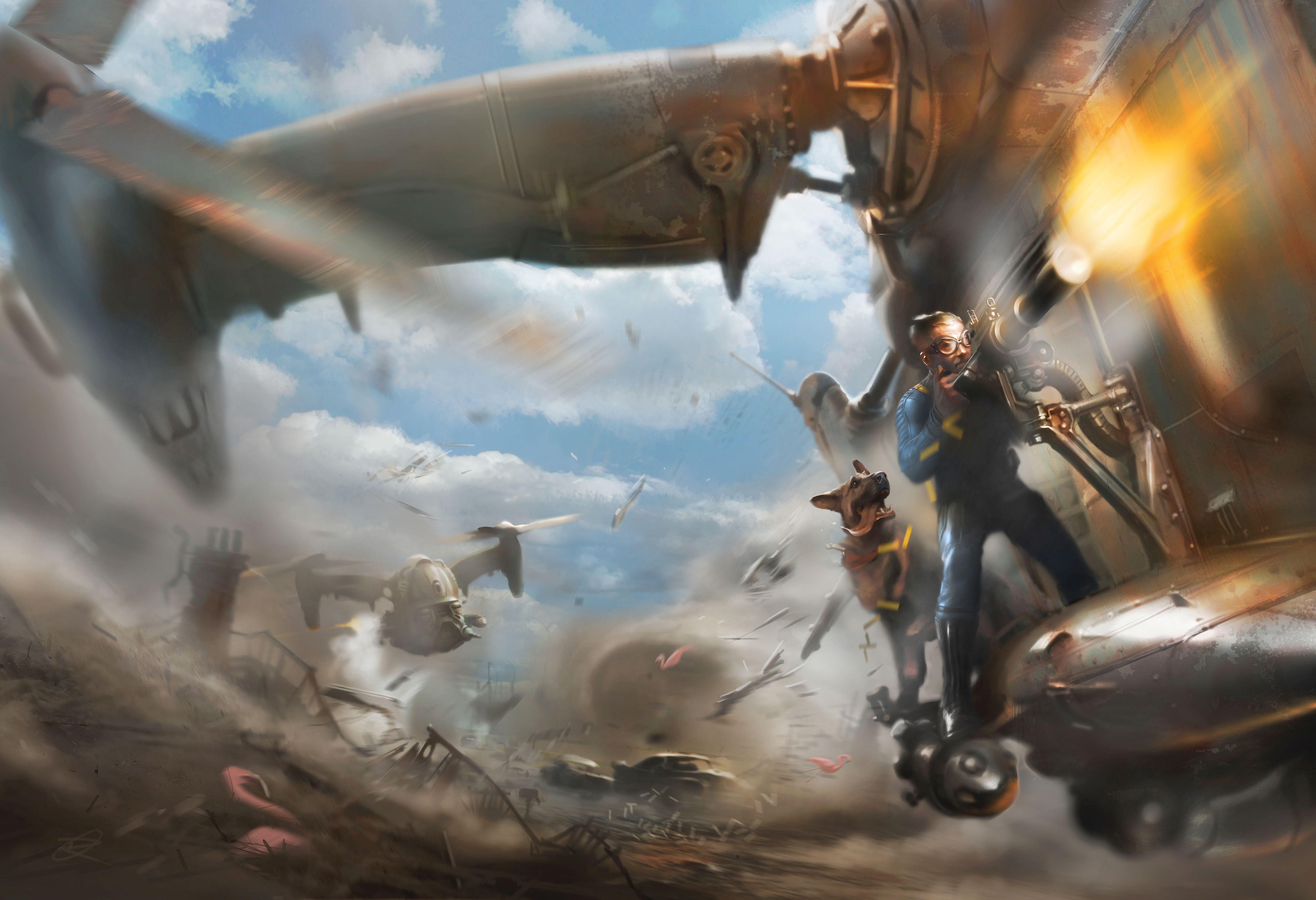 Fallout 4 vyjde už v listopadu. Hra se předvedla na E3 110095