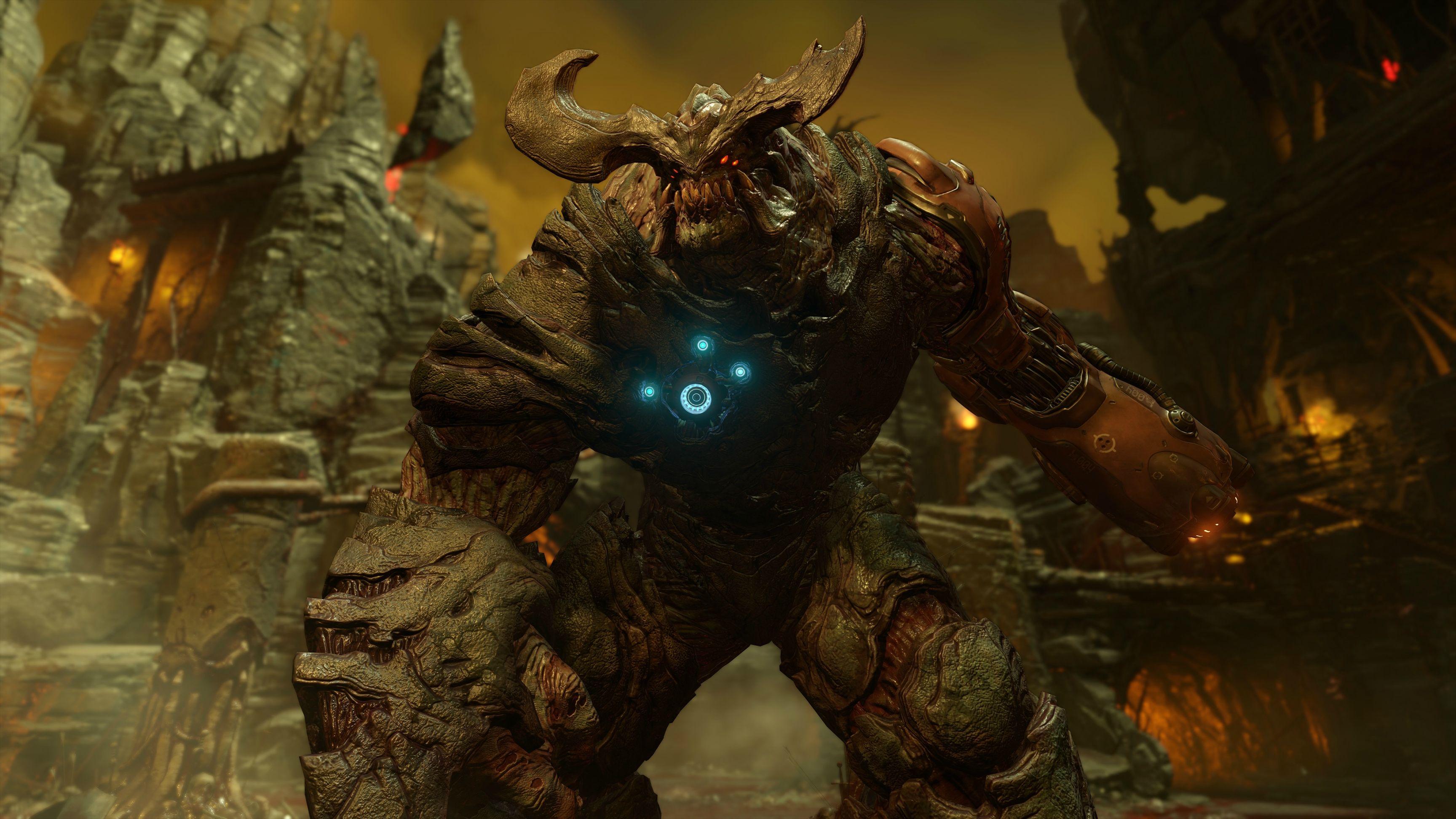 Nový Doom na jaře 2016 s brokovnicí, motorovkou a brutalitou 110121