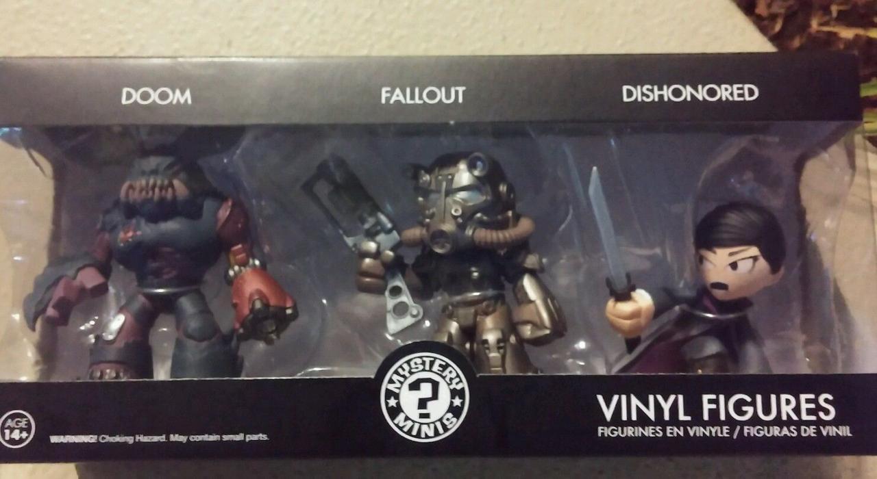 Fallout, Doom a Dishonored postavičky již na Ebay 110126