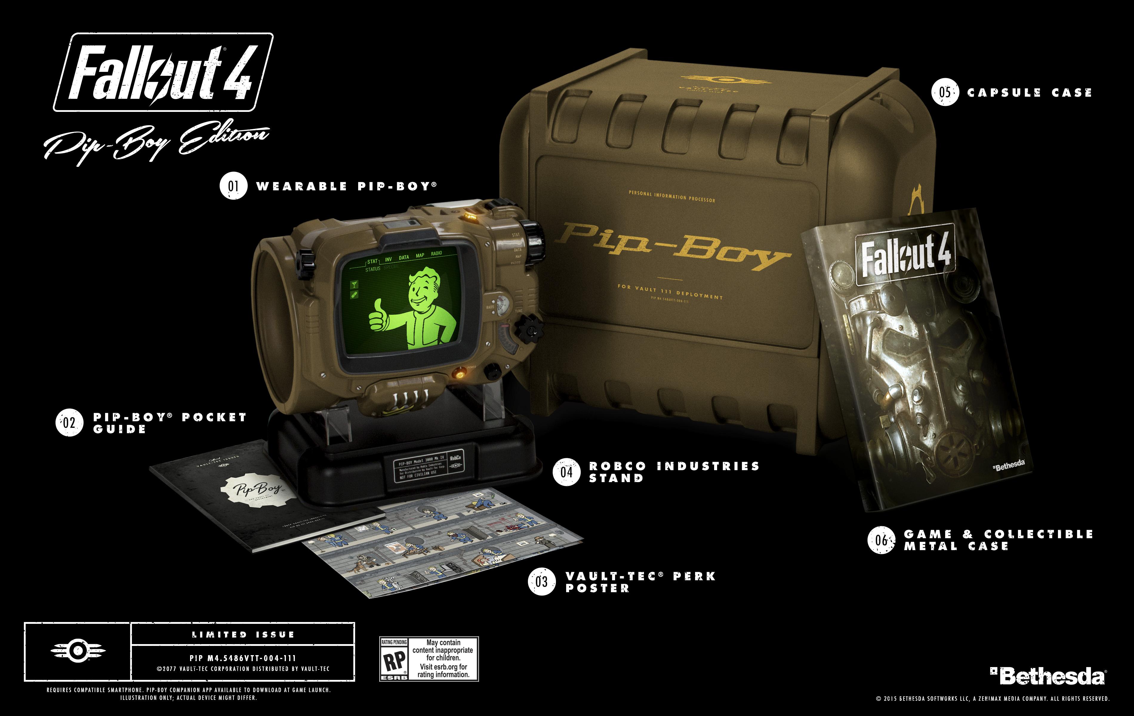 Detaily o sběratelské edici Fallout 4 110127
