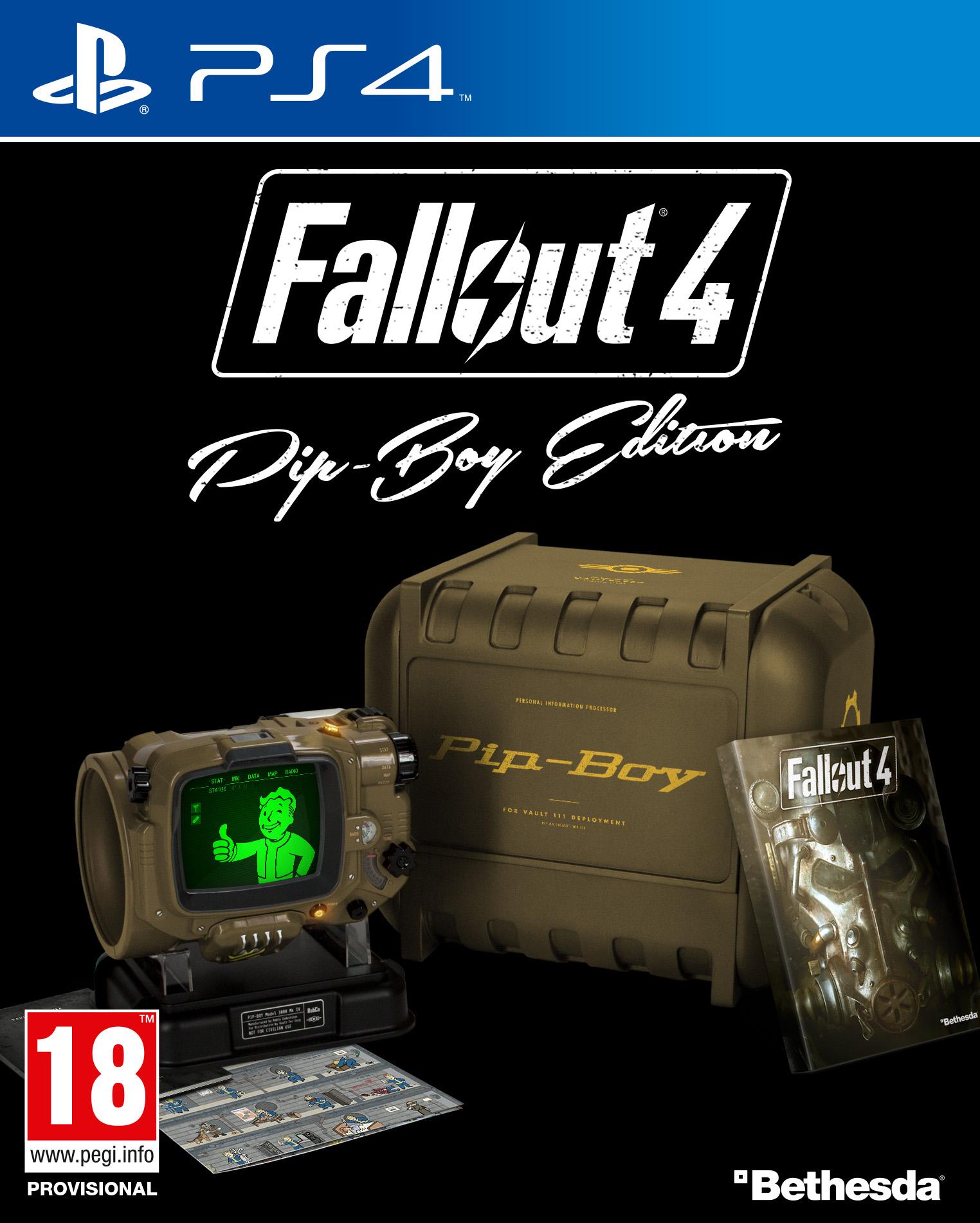 Detaily o sběratelské edici Fallout 4 110128