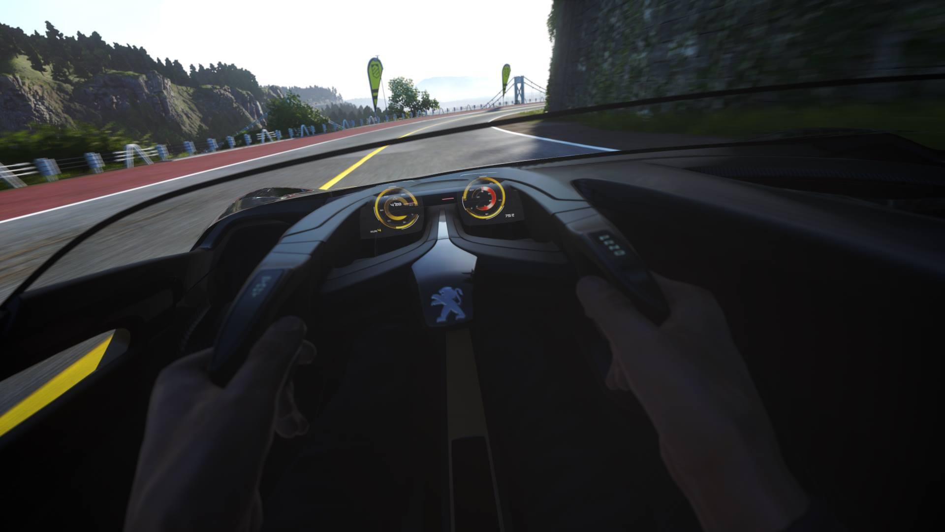 Nissan MY15 GT-R a Peugeot EX1 Concept míří do DriveClub 110173