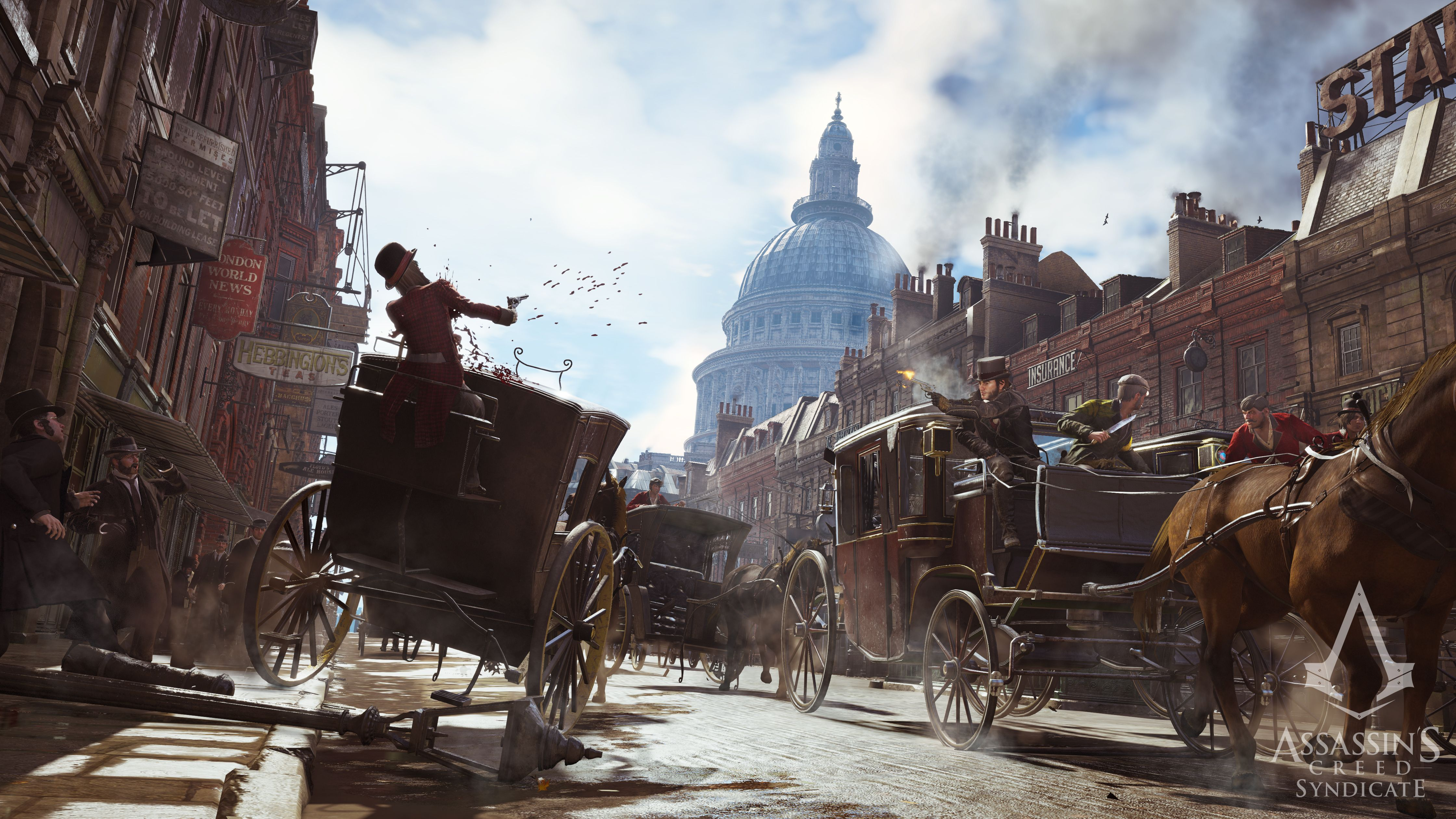 Nový trailer a gameplay z Assassin's Creed: Syndicate 110223