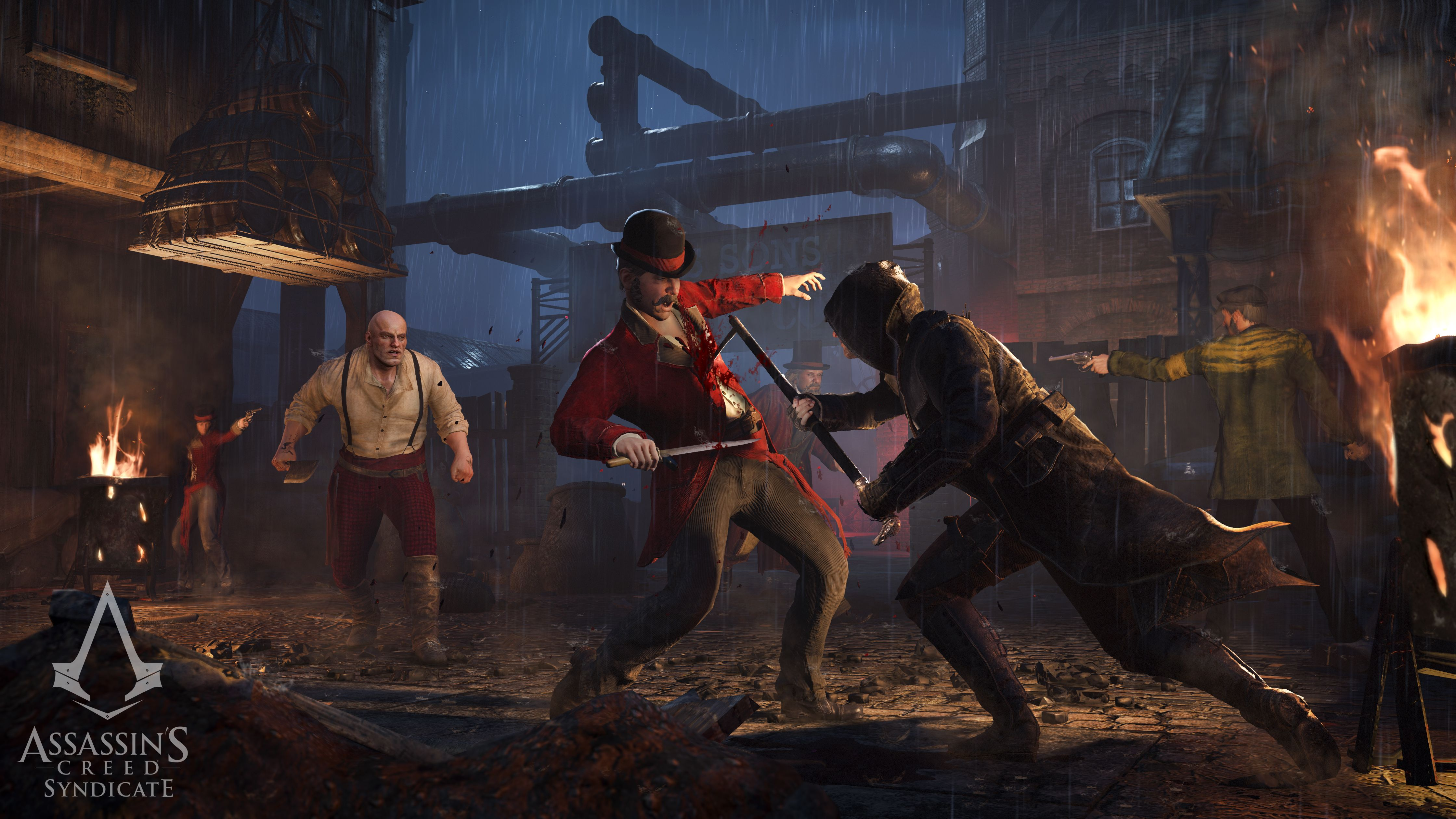 Nový trailer a gameplay z Assassin's Creed: Syndicate 110224