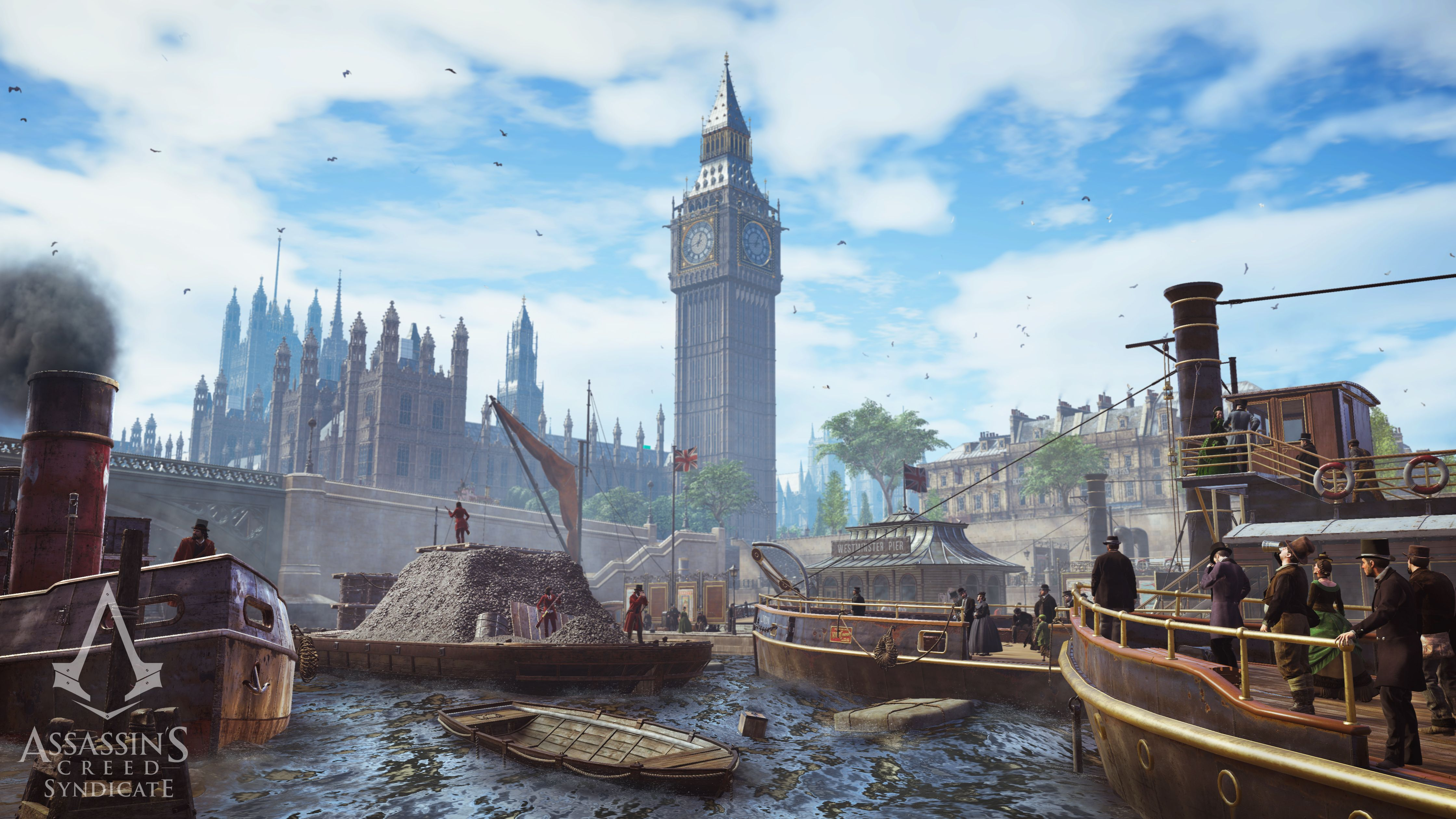 Nový trailer a gameplay z Assassin's Creed: Syndicate 110225