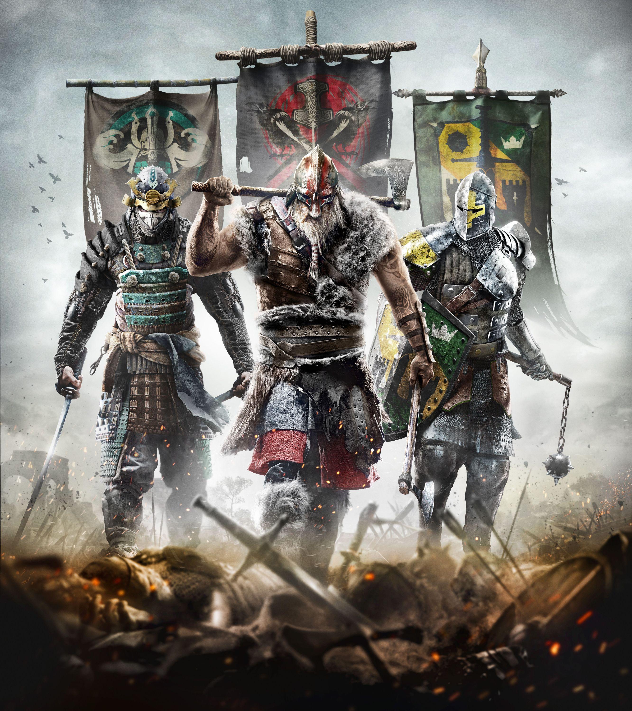 Ubisoft oznámil novou kompetitivní multiplayerovku For Honor 110332