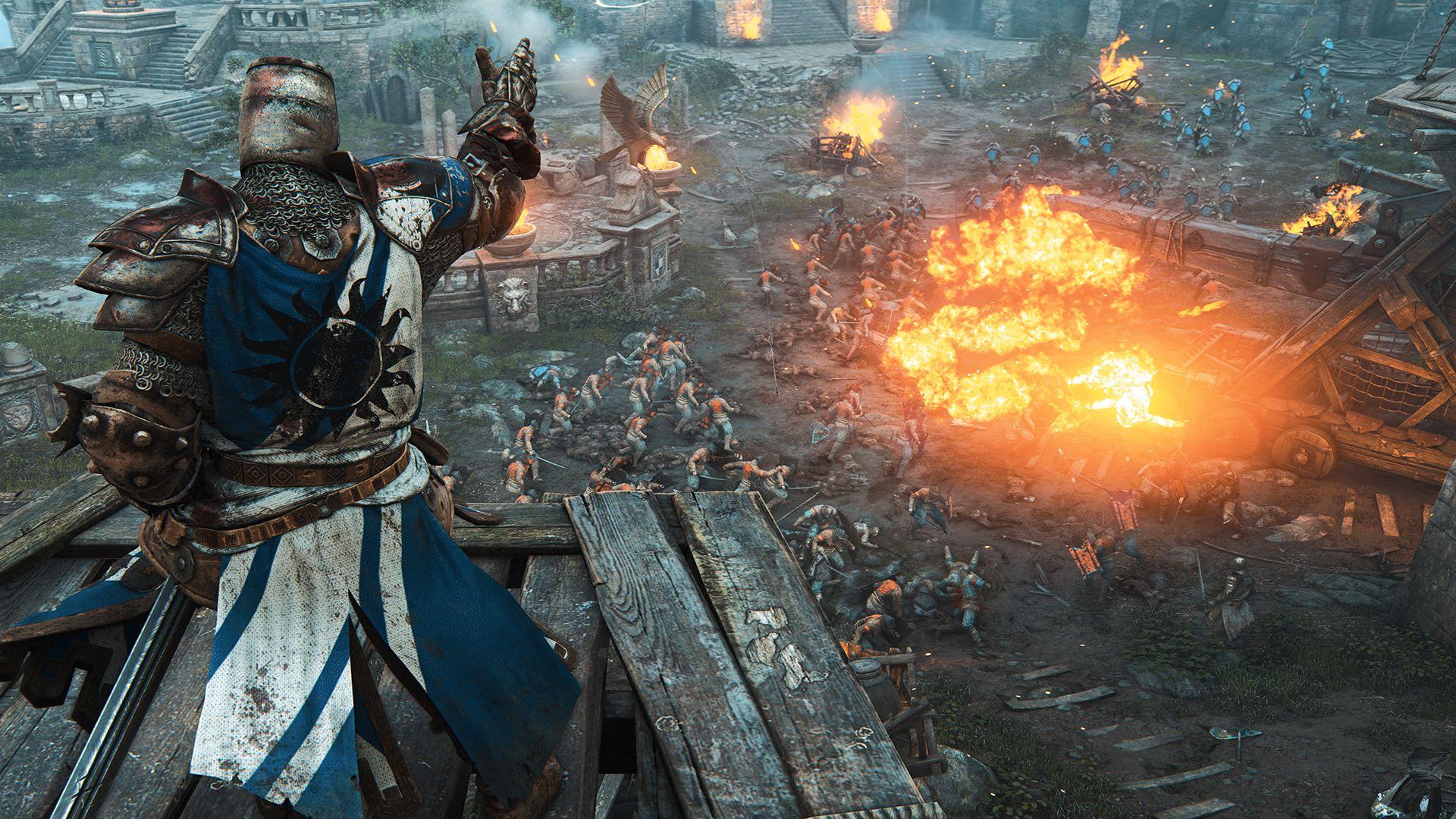 Ubisoft oznámil novou kompetitivní multiplayerovku For Honor 110339
