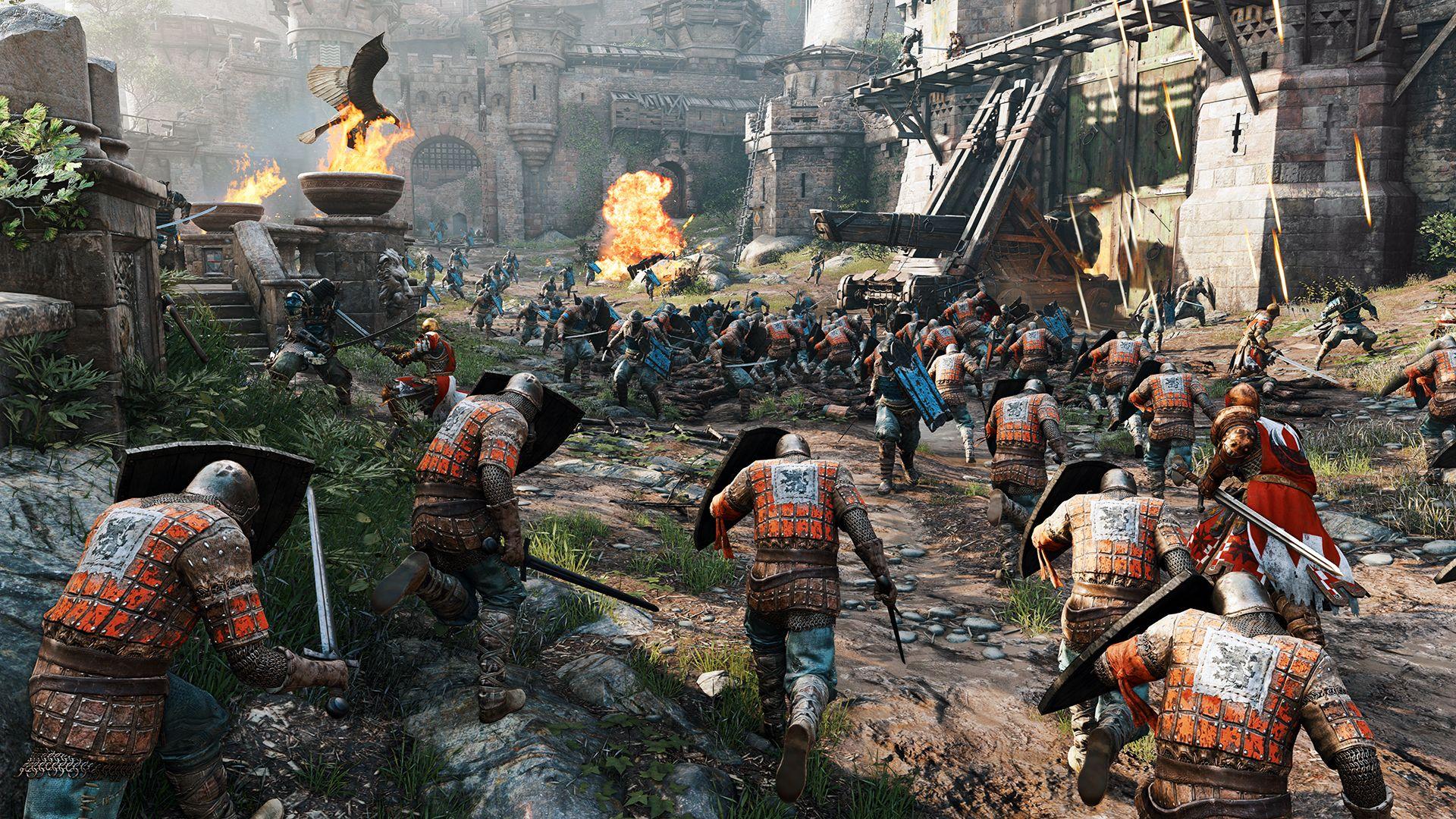 Ubisoft oznámil novou kompetitivní multiplayerovku For Honor 110340