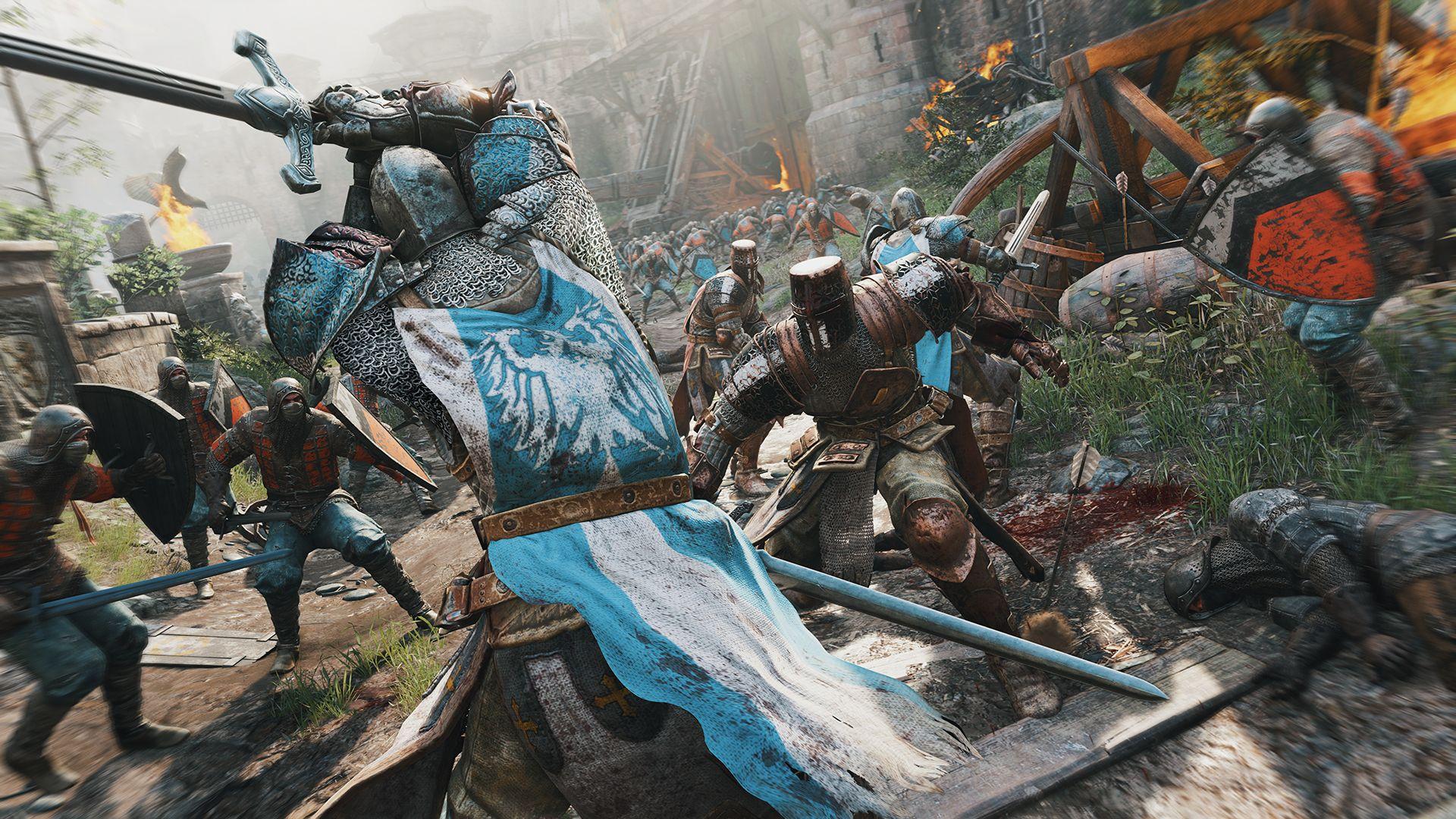 Ubisoft oznámil novou kompetitivní multiplayerovku For Honor 110341