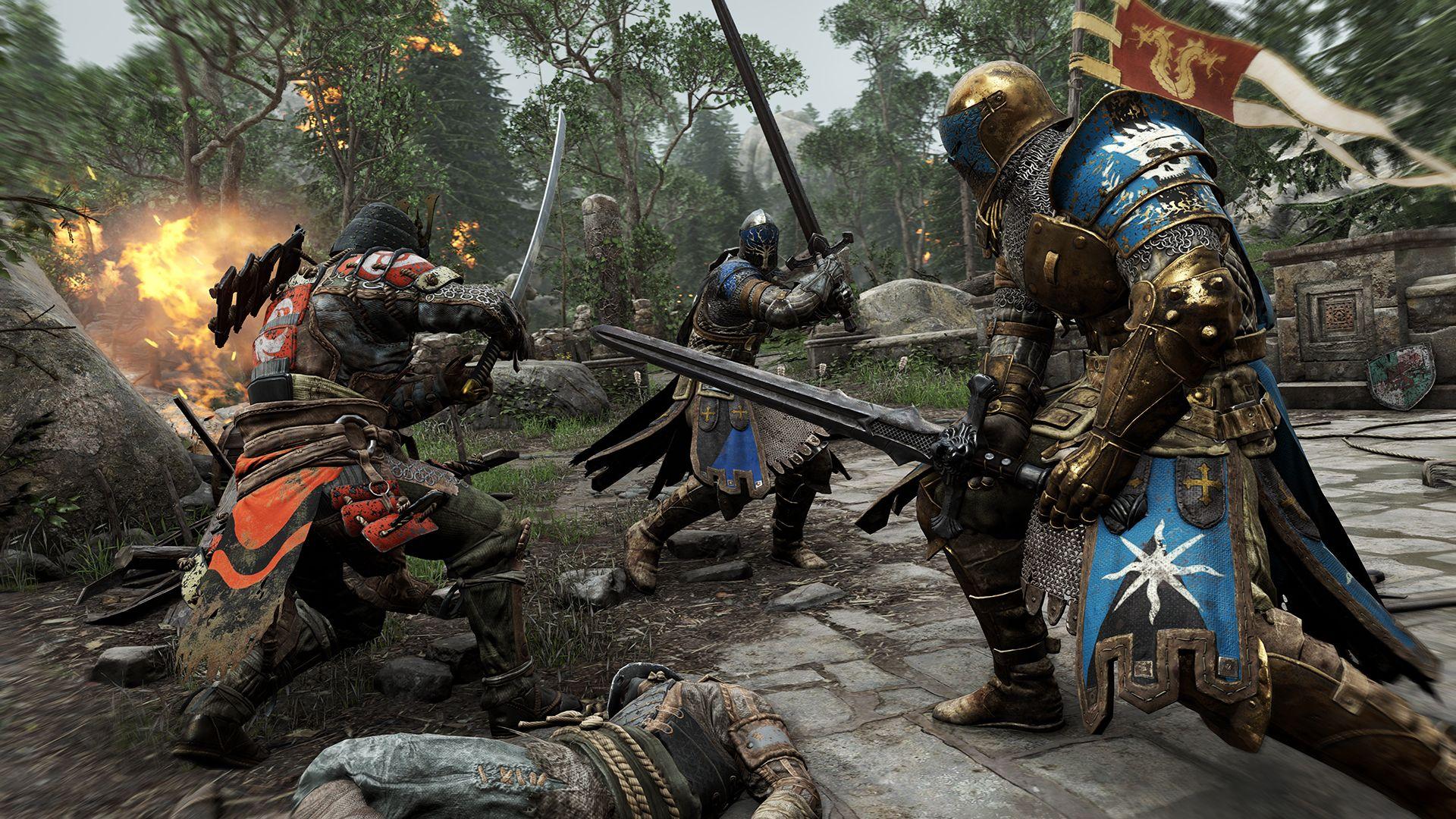 Ubisoft oznámil novou kompetitivní multiplayerovku For Honor 110343