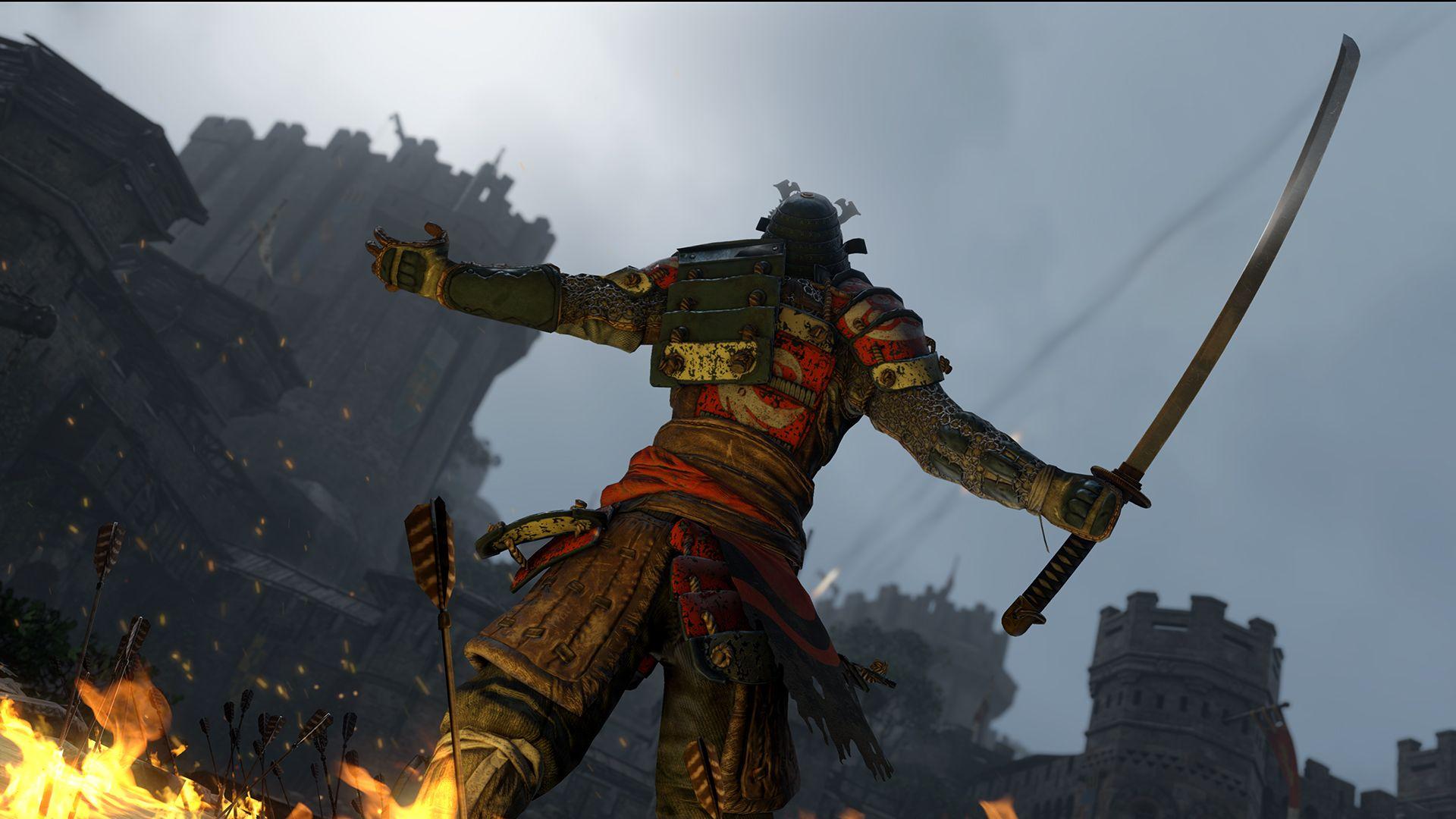 Ubisoft oznámil novou kompetitivní multiplayerovku For Honor 110345