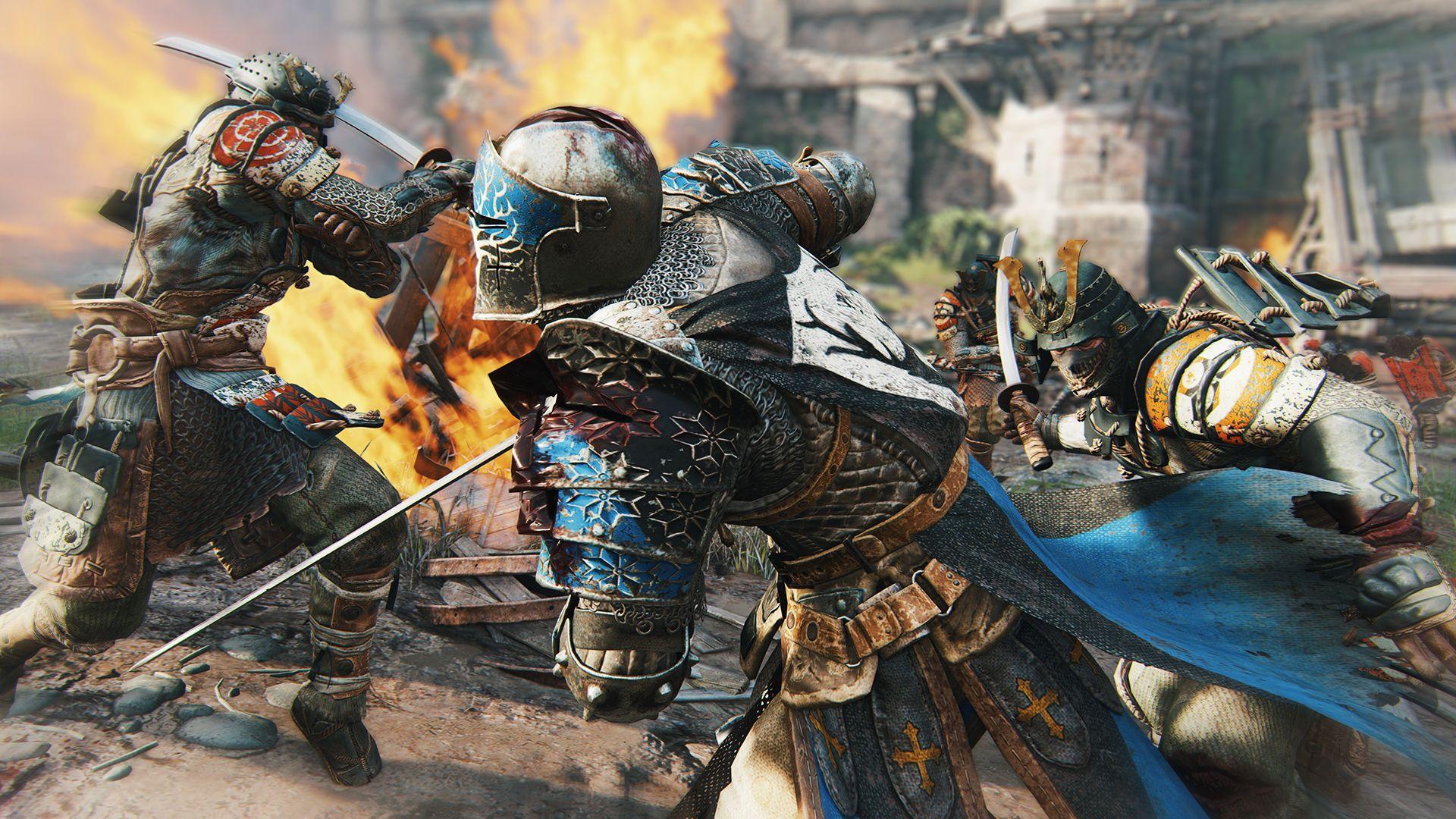Ubisoft oznámil novou kompetitivní multiplayerovku For Honor 110346