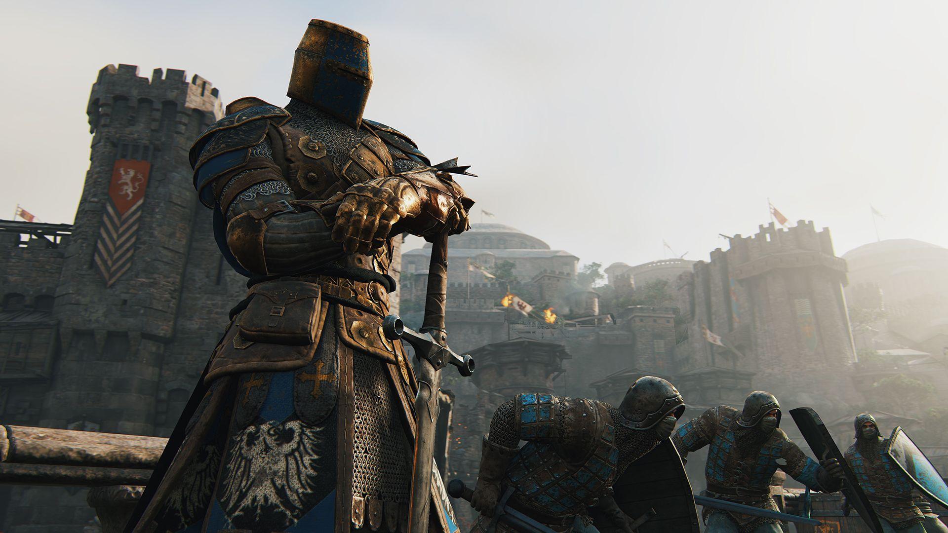 Ubisoft oznámil novou kompetitivní multiplayerovku For Honor 110347
