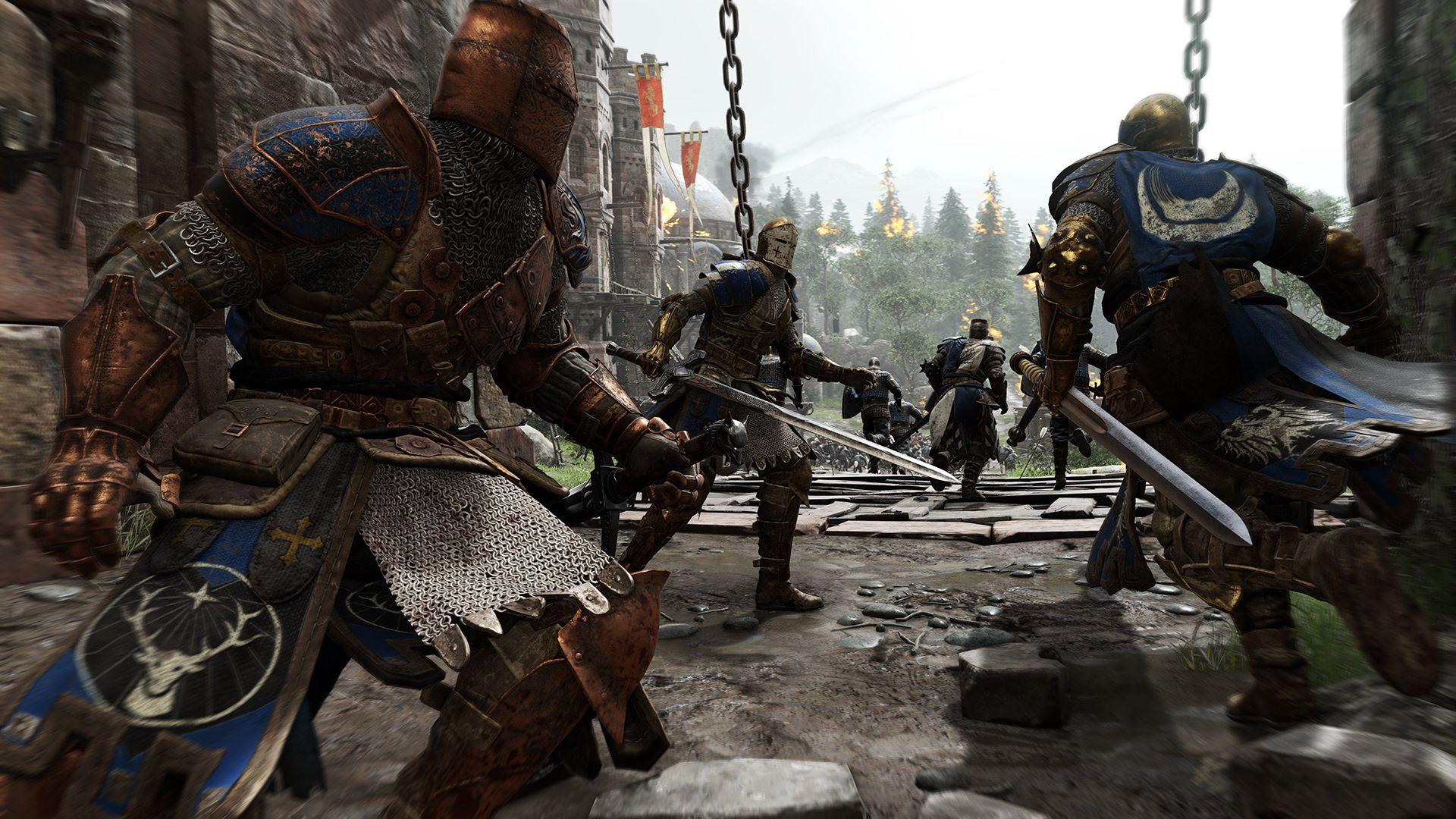 Ubisoft oznámil novou kompetitivní multiplayerovku For Honor 110348