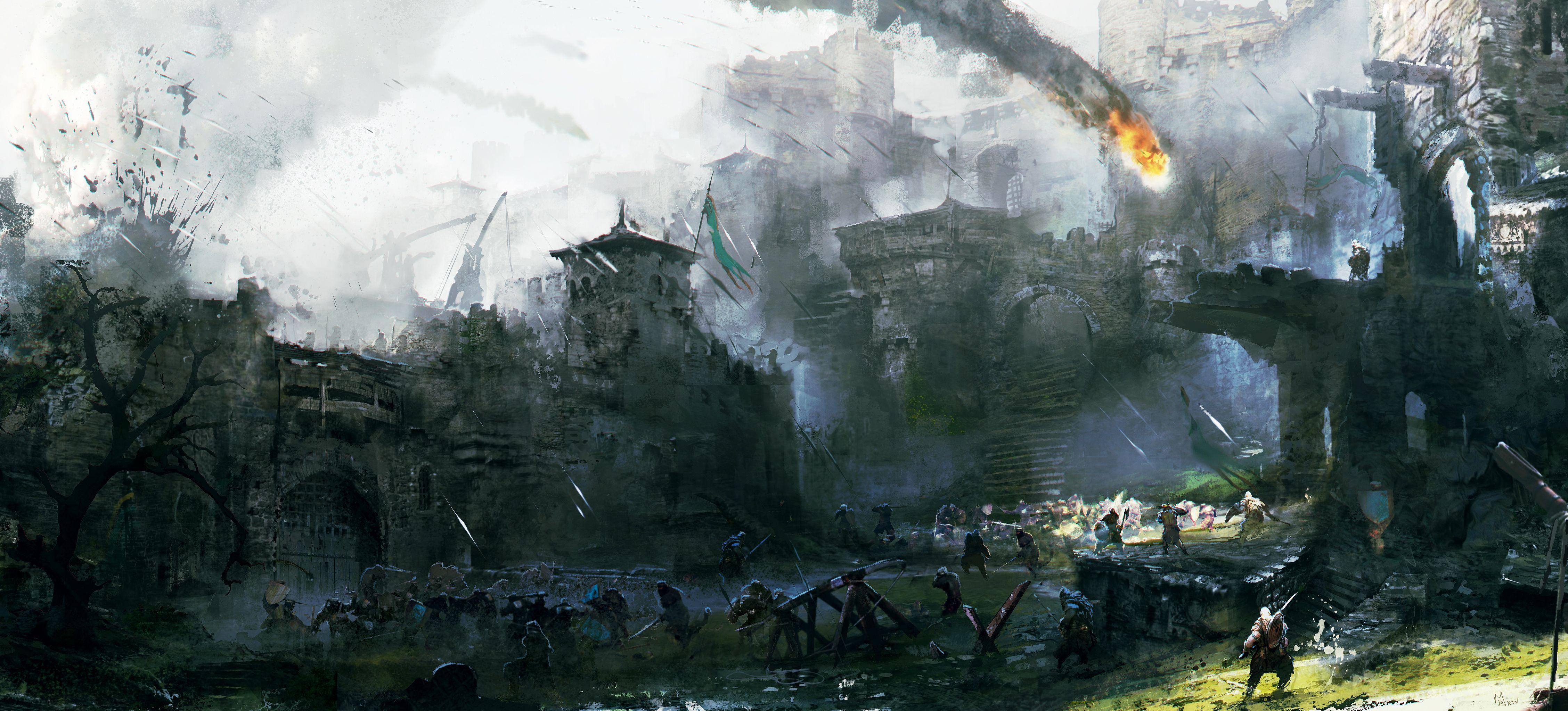 Ubisoft oznámil novou kompetitivní multiplayerovku For Honor 110353