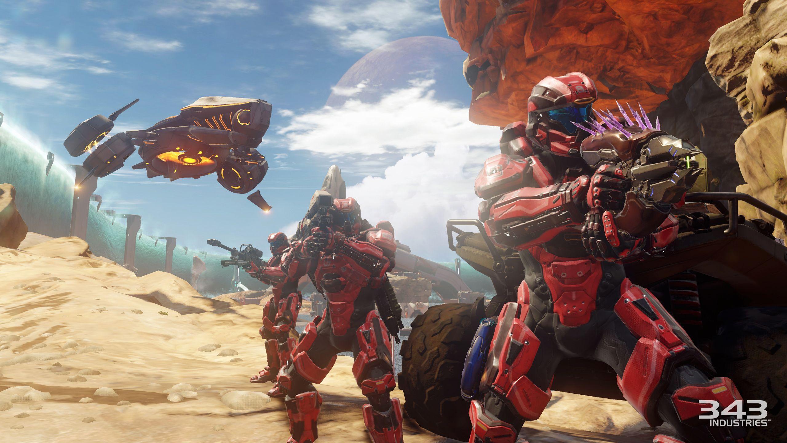 Halo 5: Guardians kráčí po vyšlapané cestičce 110372