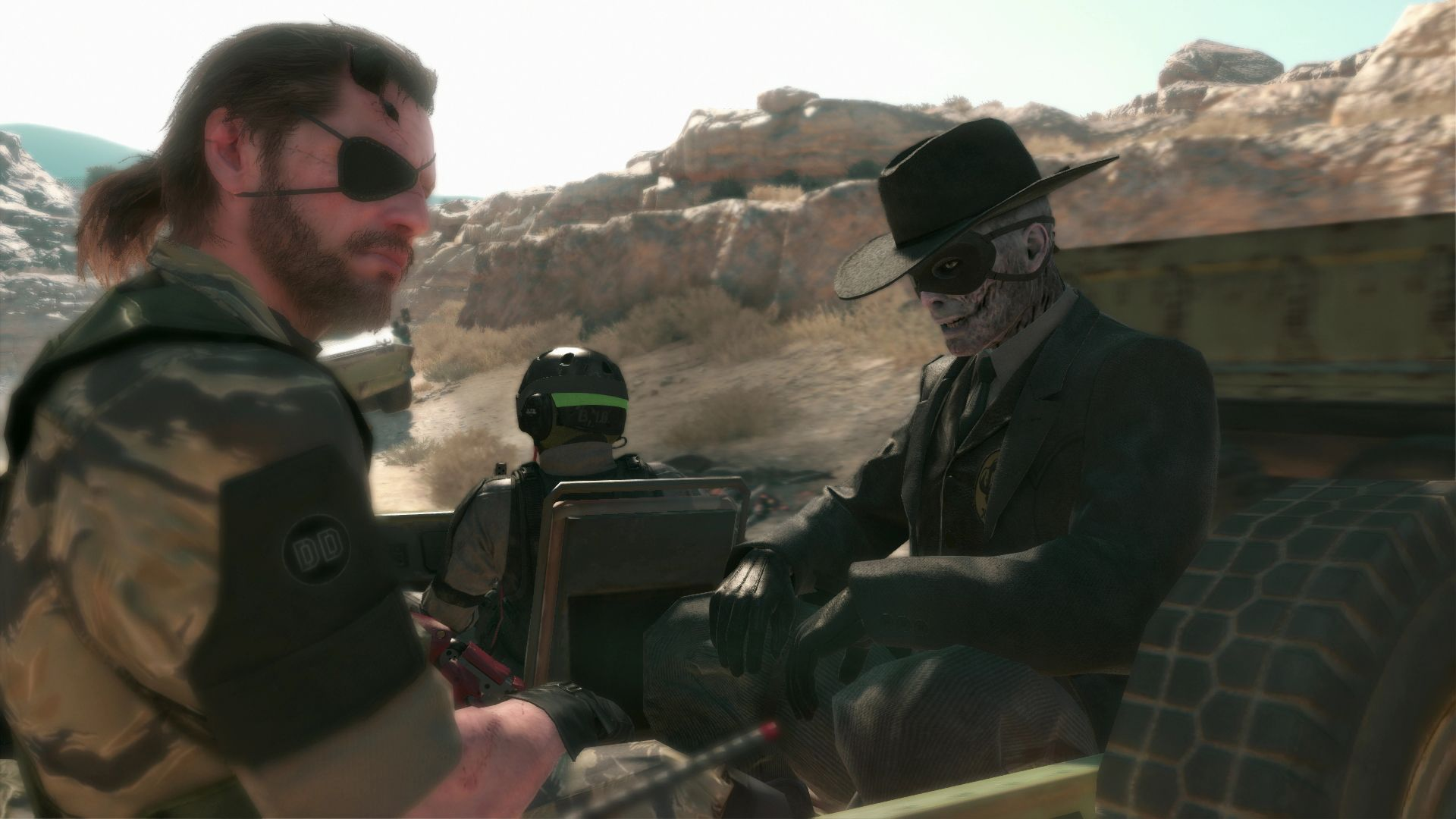 Spousta nových HD obrázků z Metal Gear Solid V: The Phantom Pain 110497