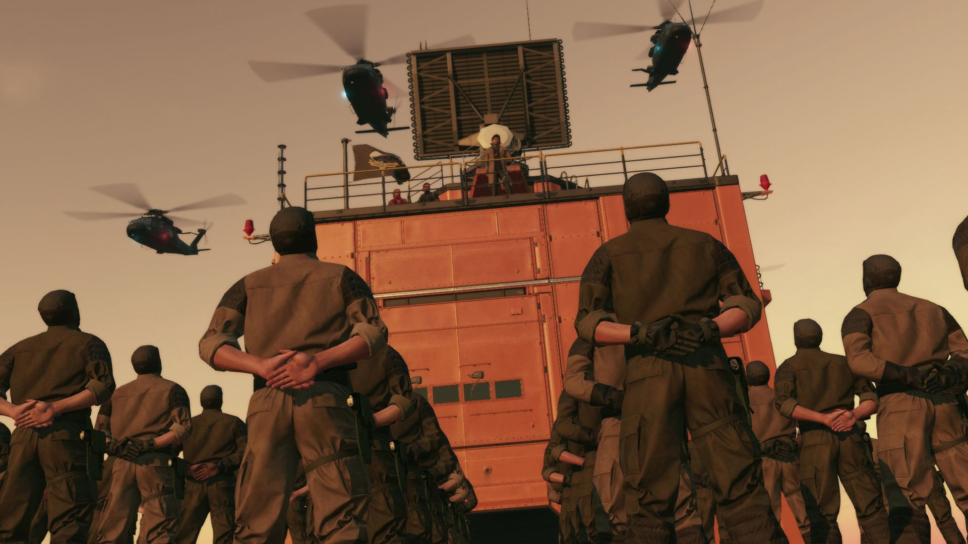 Spousta nových HD obrázků z Metal Gear Solid V: The Phantom Pain 110502