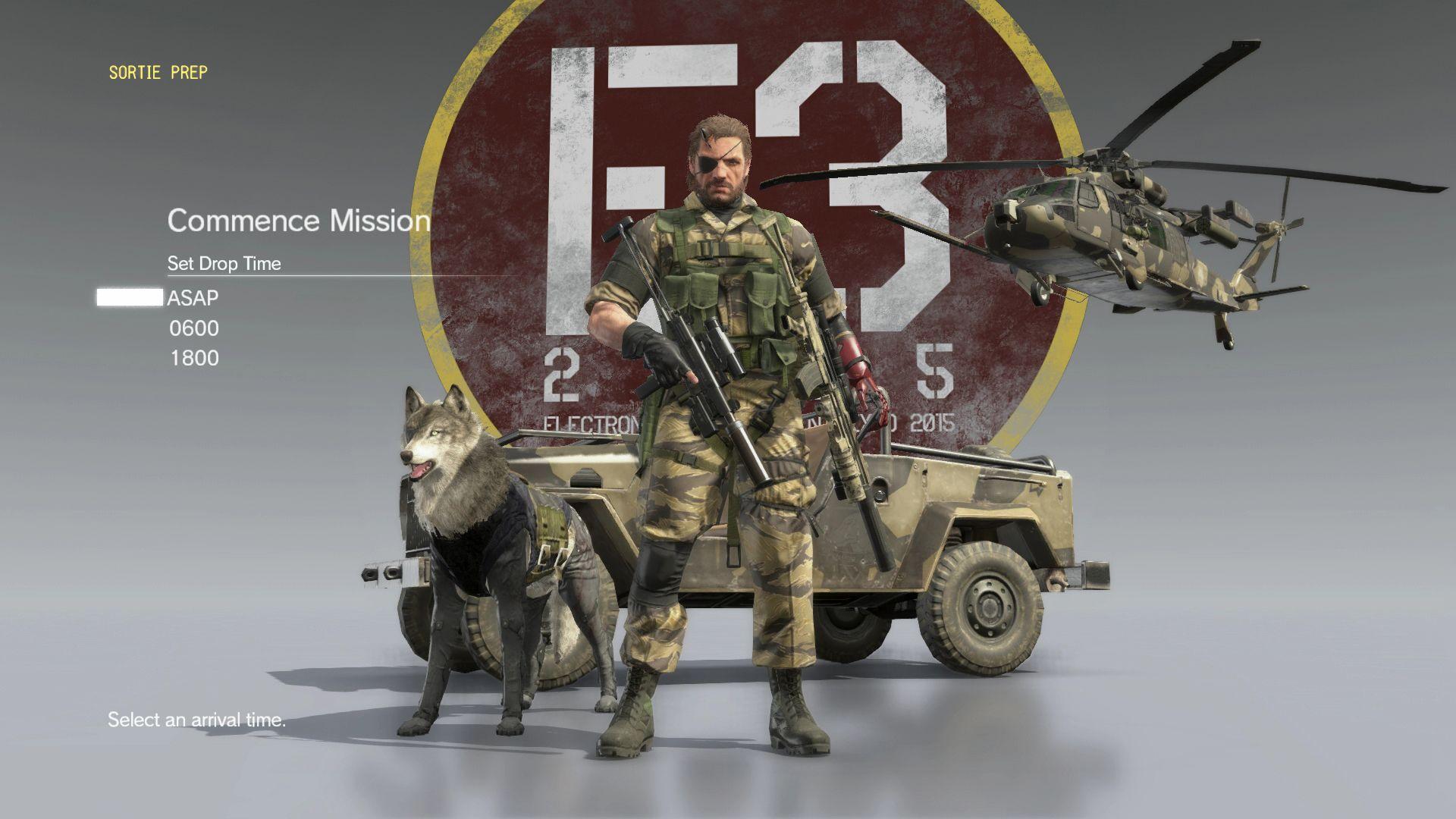 Spousta nových HD obrázků z Metal Gear Solid V: The Phantom Pain 110520