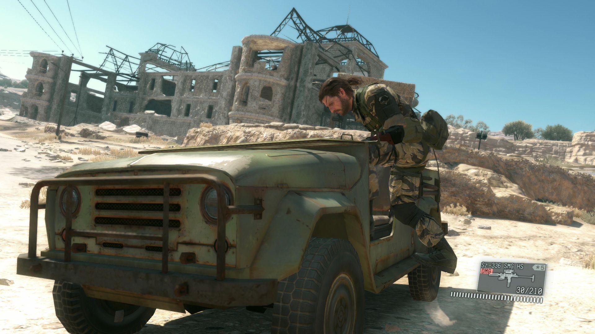 Spousta nových HD obrázků z Metal Gear Solid V: The Phantom Pain 110531