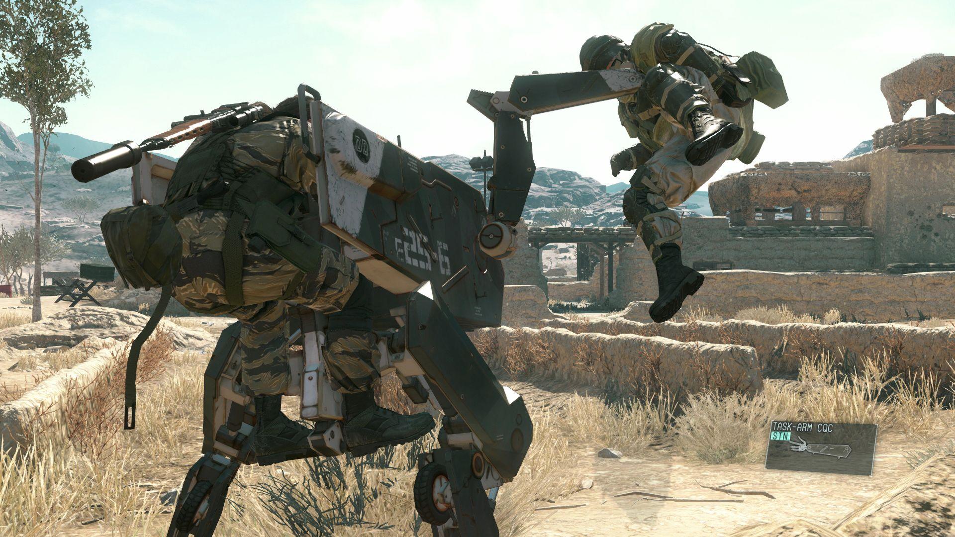 Spousta nových HD obrázků z Metal Gear Solid V: The Phantom Pain 110536